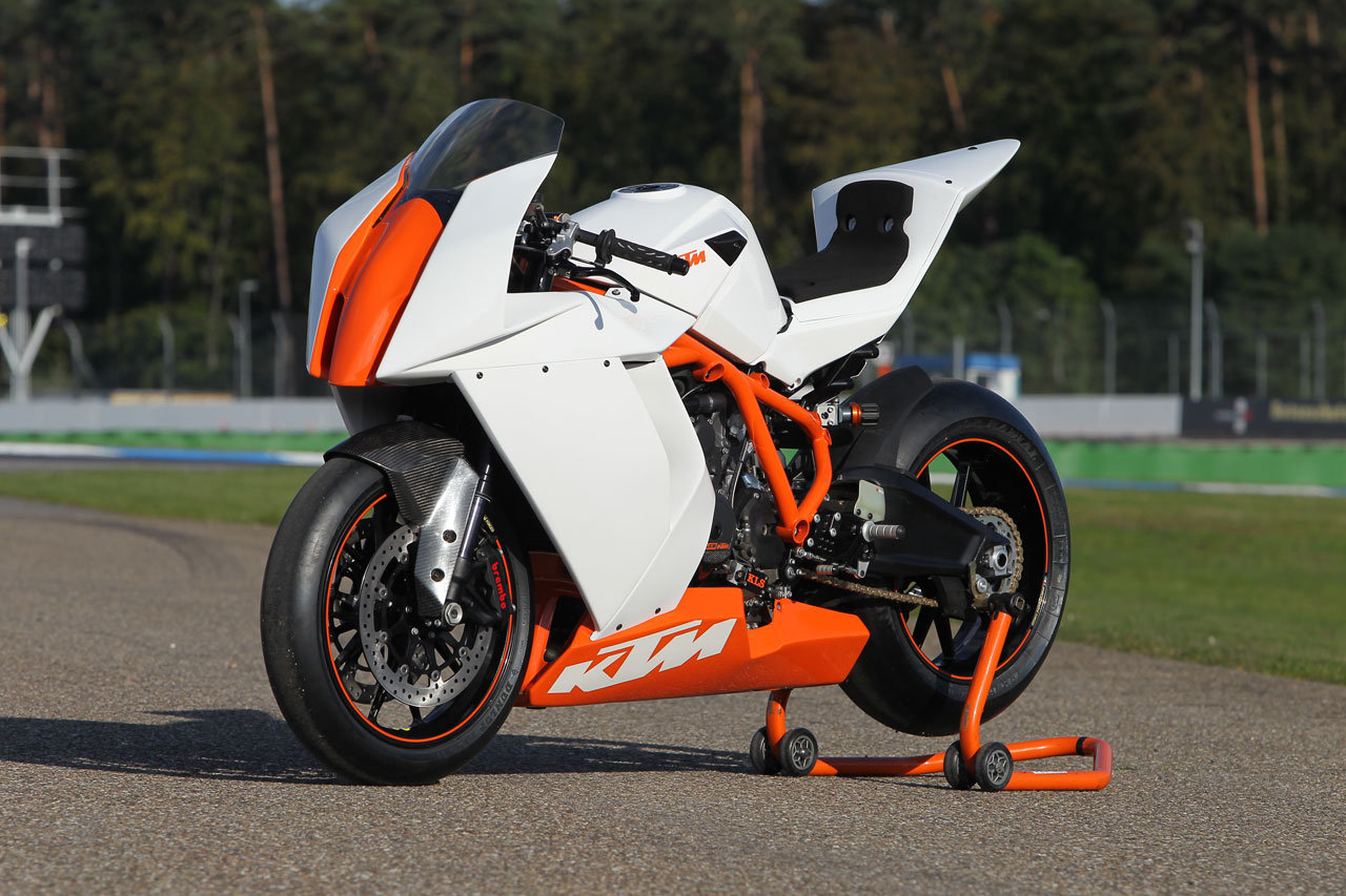 2011 KTM 1198 RC8 R Track