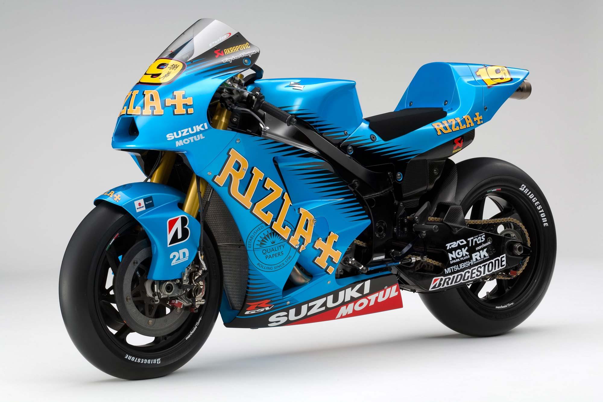 2011 Rizla Suzuki GSV-R MotoGP Race Bike Unveiled - Asphalt & Rubber