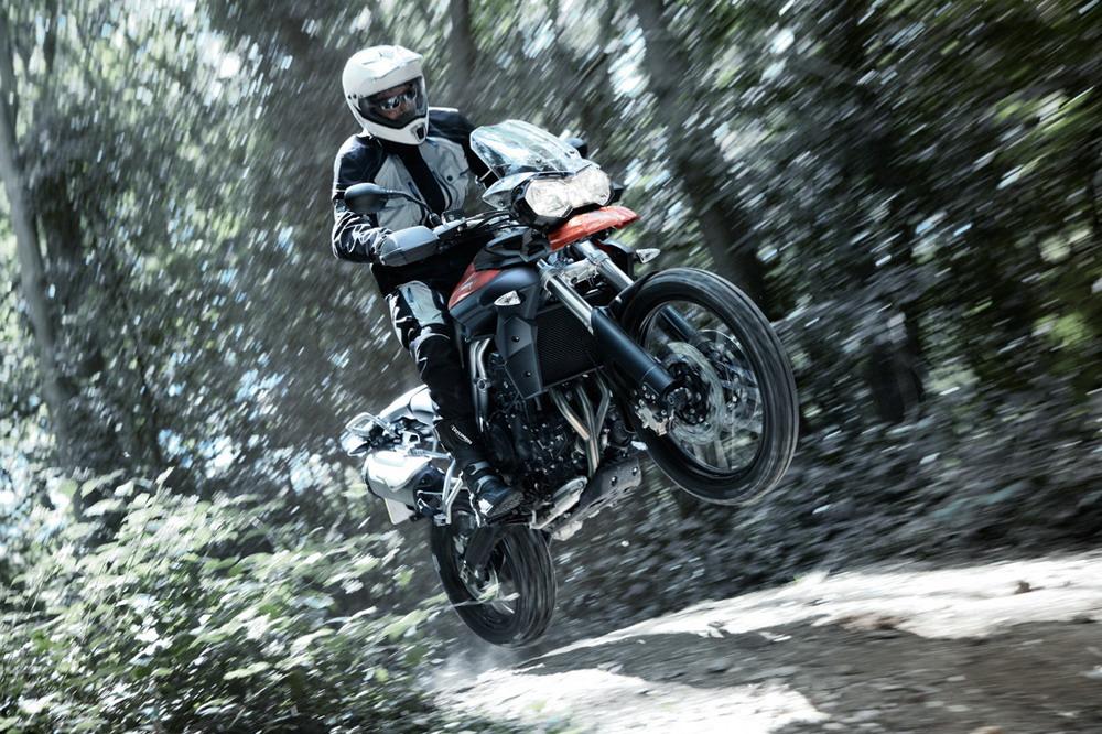 2011 Triumph Tiger 800 Breaks Cover