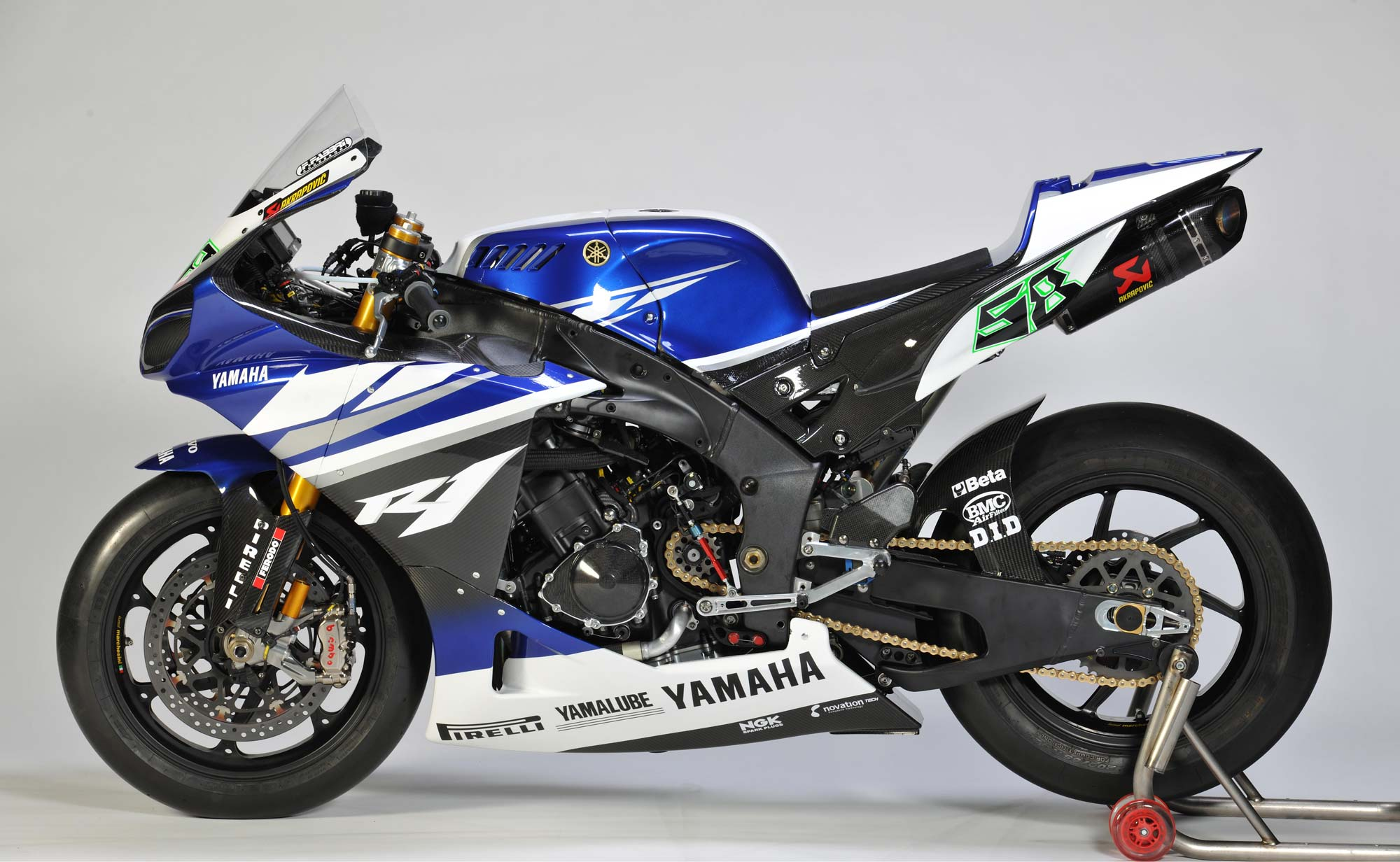 Yamaha Releases 2011 World Superbike Livery Forgets To
