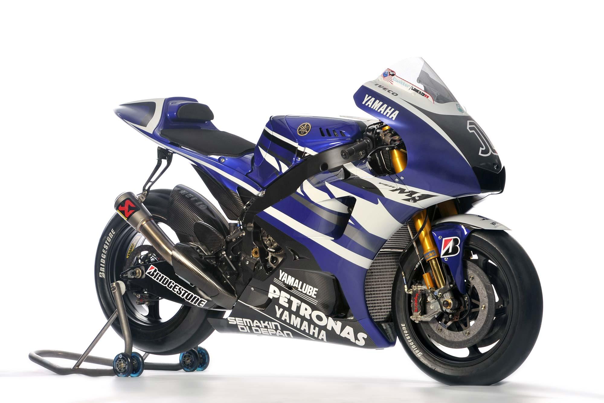 2011 Yamaha YZR-M1 Technical Specifications - Asphalt & Rubber