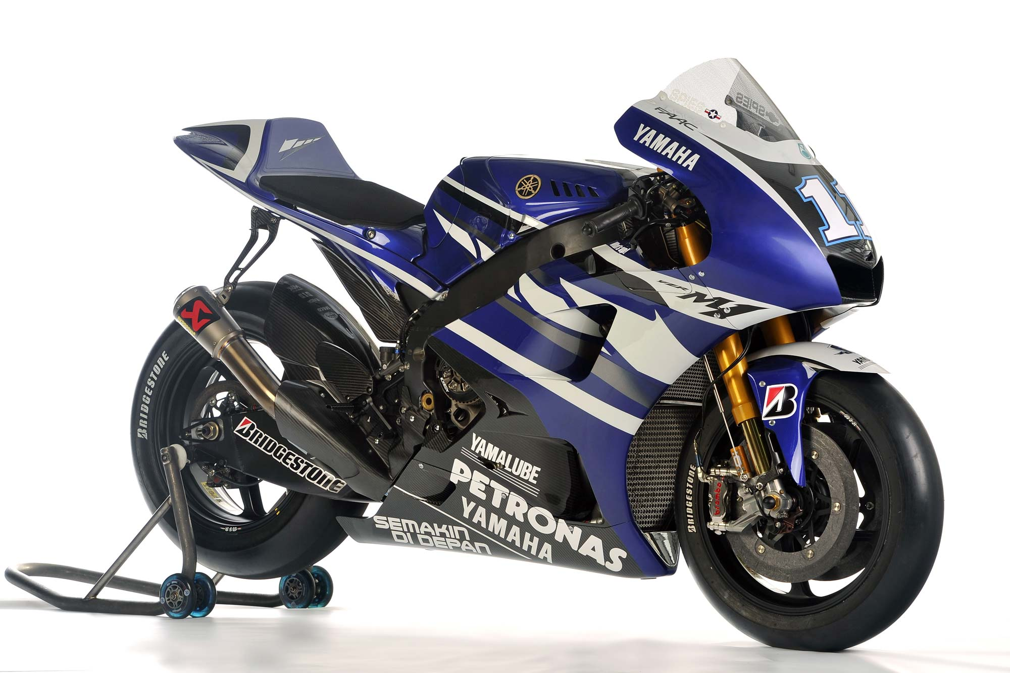 2011 Yamaha YZR-M1 Technical Specifications - Asphalt & Rubber