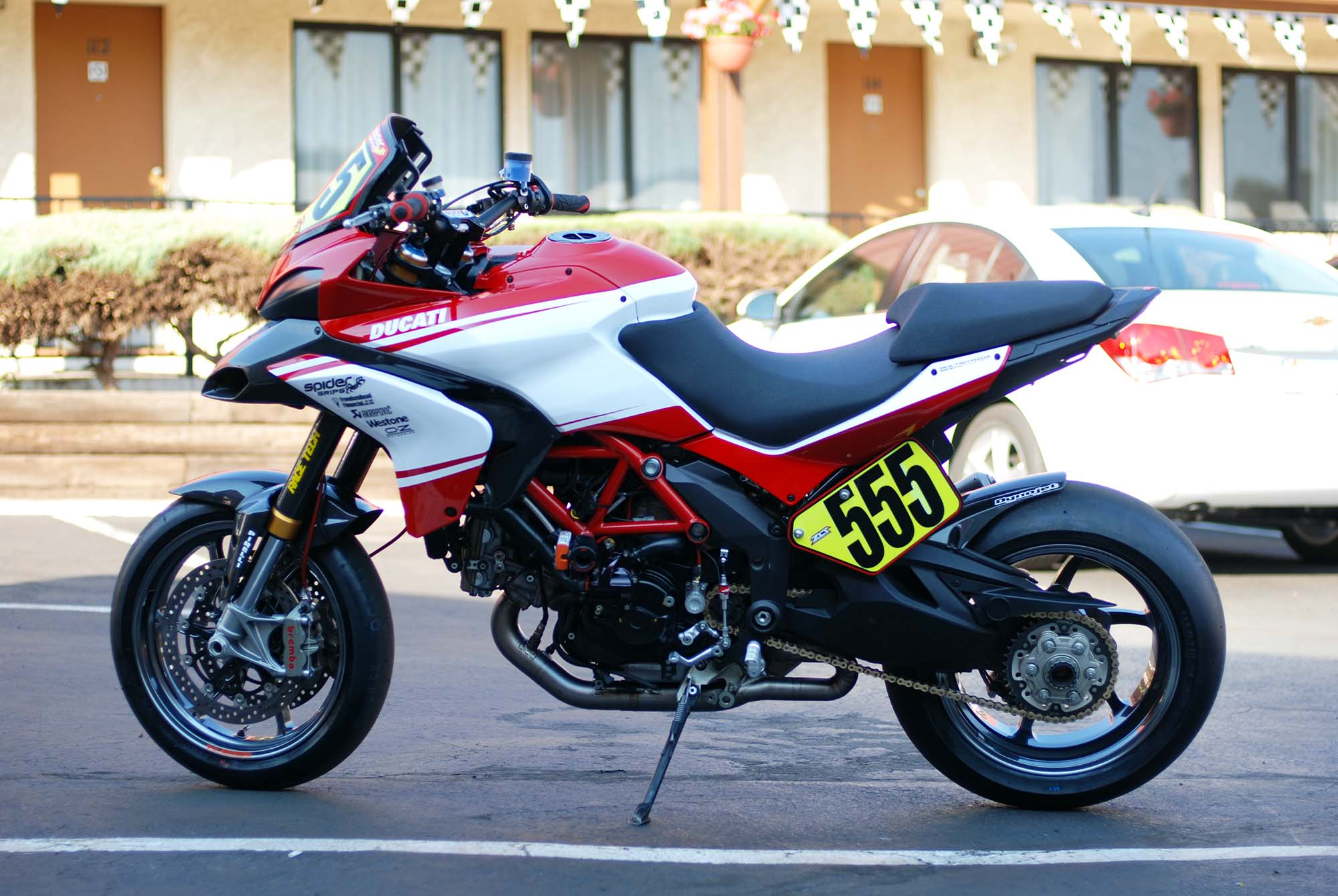 2012 Ducati Multistrada 1200 S Pikes Peak Race Bike ...