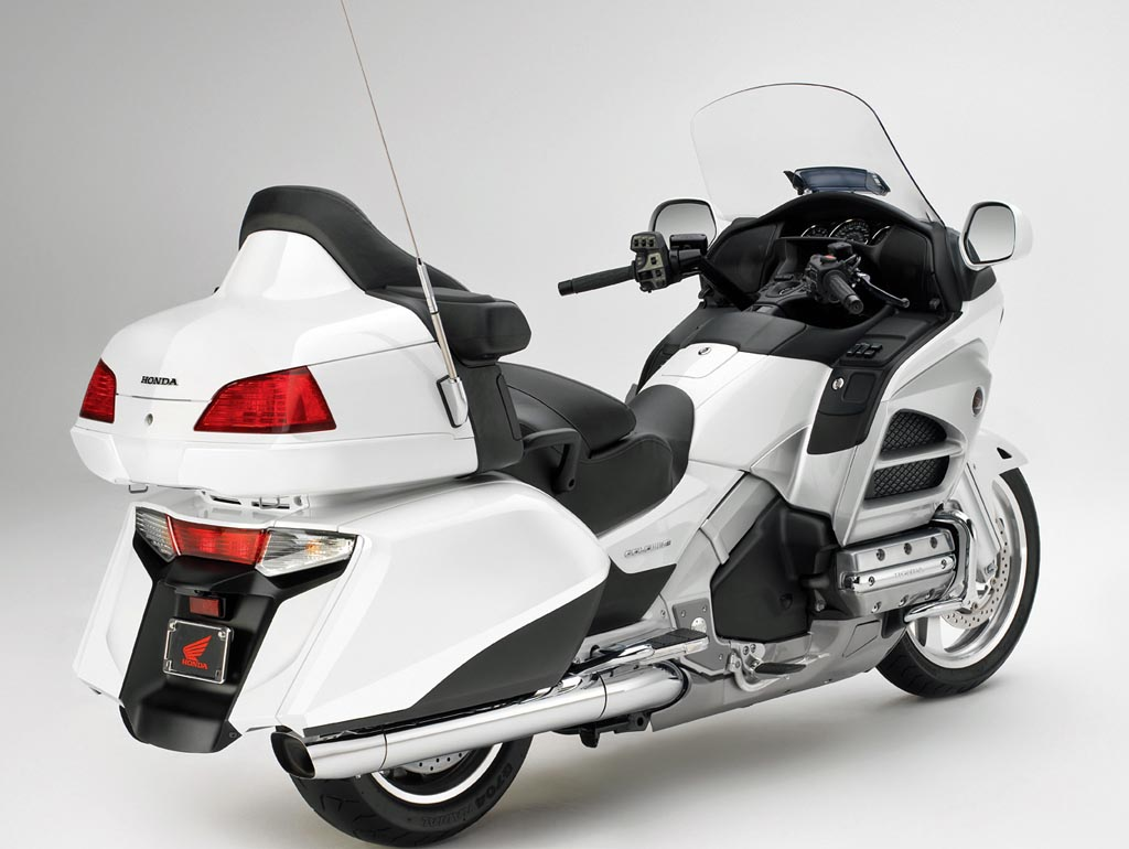2012 Honda Goldwing Gets Minor Tweaks