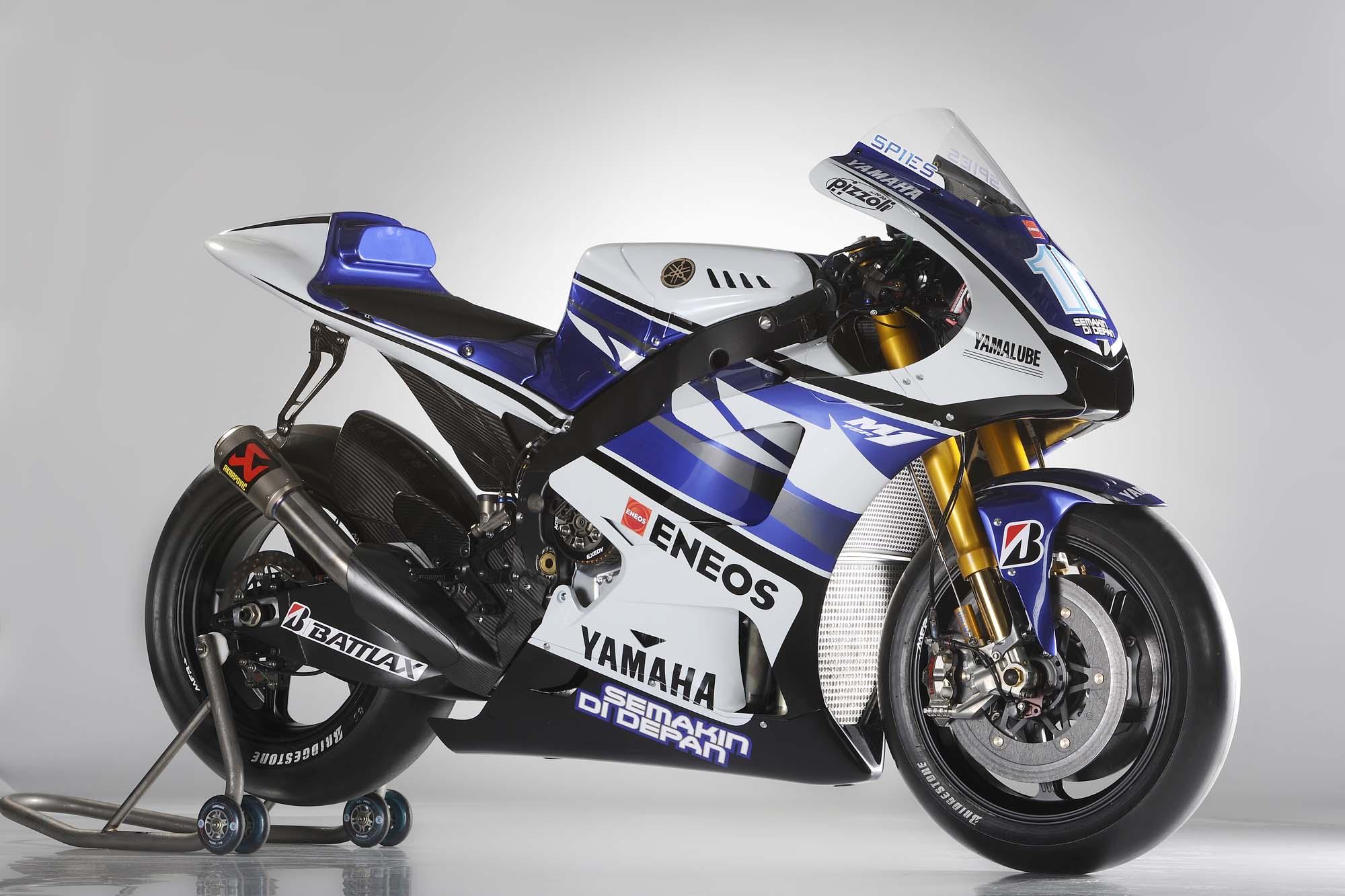 2012 Yamaha Yzr M1 Breaks Cover At Jerez Asphalt Rubber