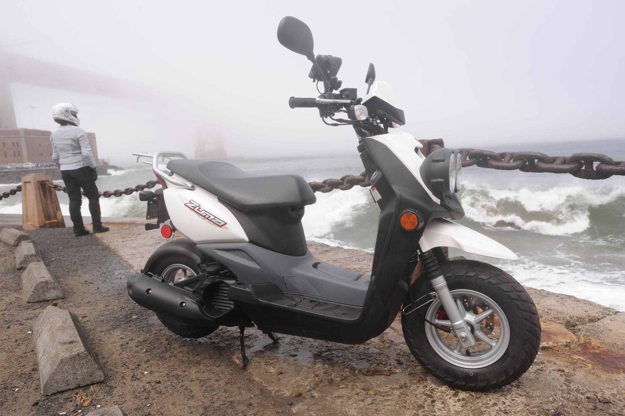 Ride Review: 2012 Yamaha Zuma 50F Scooter - Asphalt & Rubber