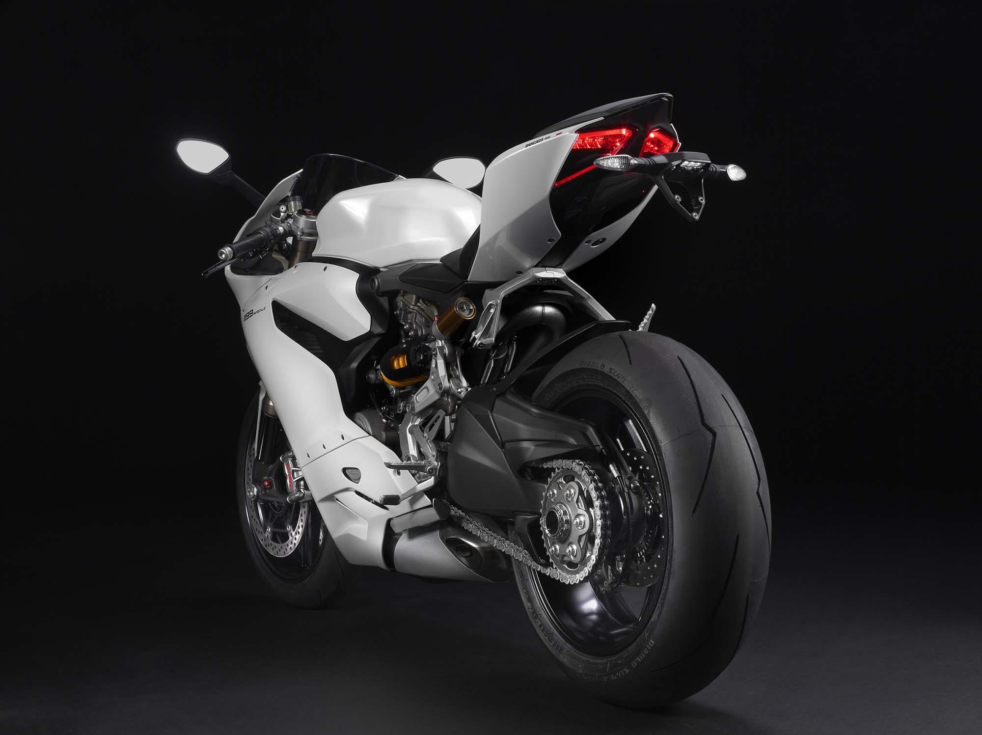 My Arctic White Ducati Monster