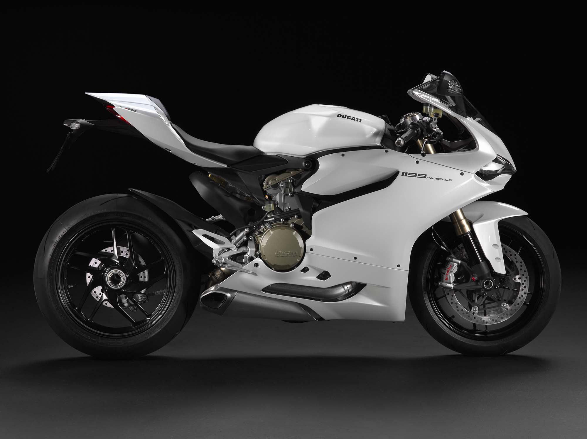 2013 Ducati 1199 Panigale - Now in Arctic White - Asphalt & Rubber