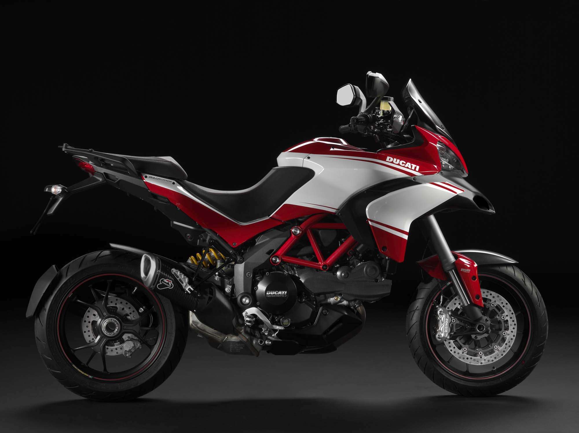 ducati multistrada 1200 gets semi active suspension asphalt rubber. Black Bedroom Furniture Sets. Home Design Ideas