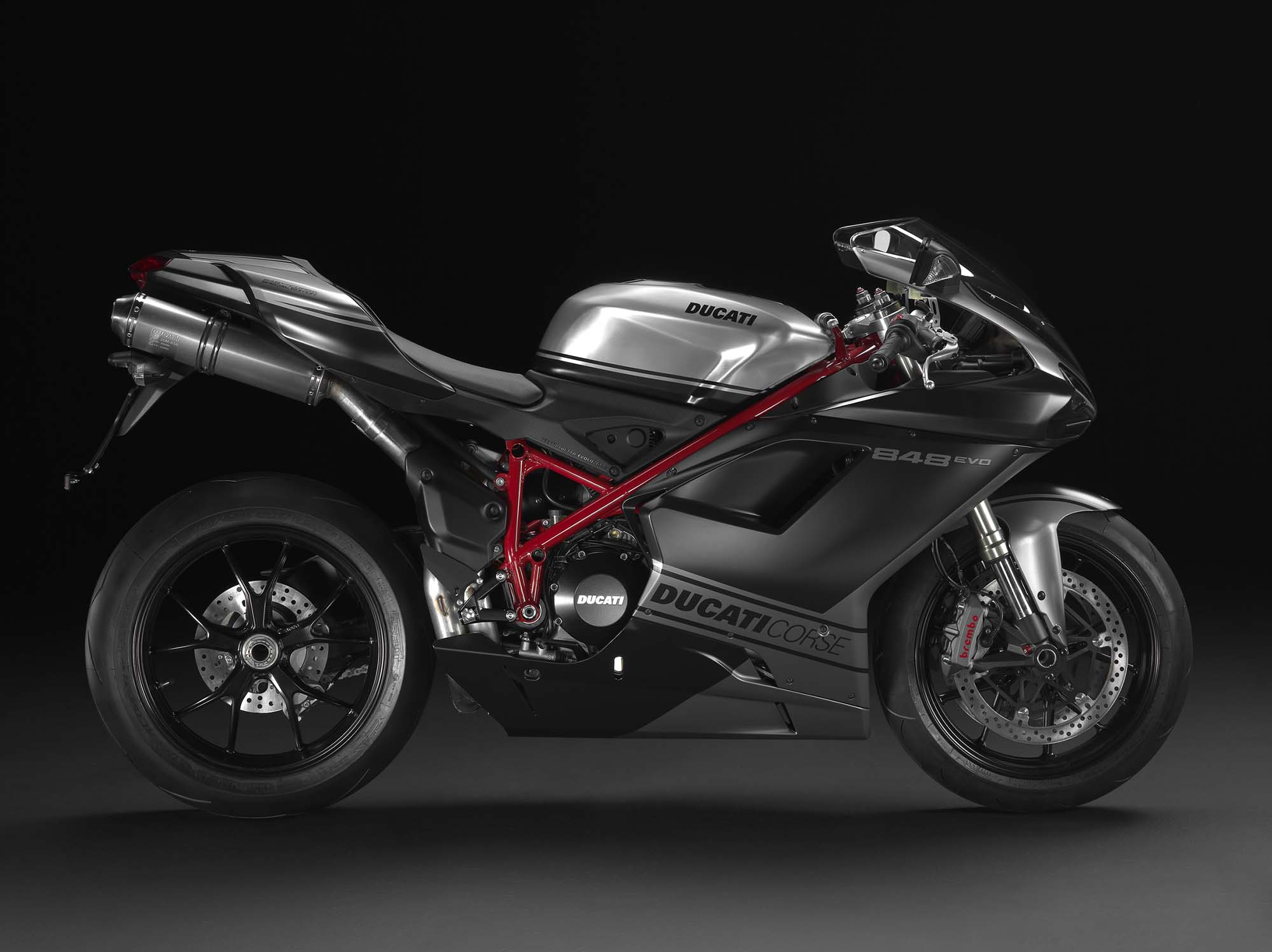 Ducati Superbike 848 Evo Exhaust