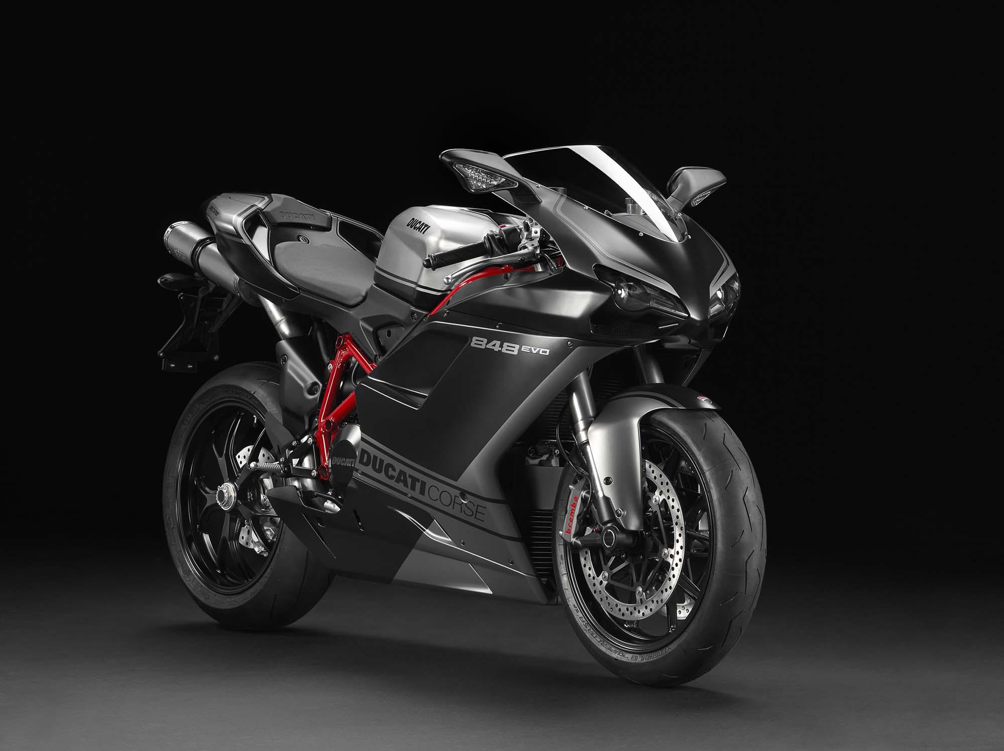2013 Ducati Superbike 848 Evo Corse Se Asphalt Rubber