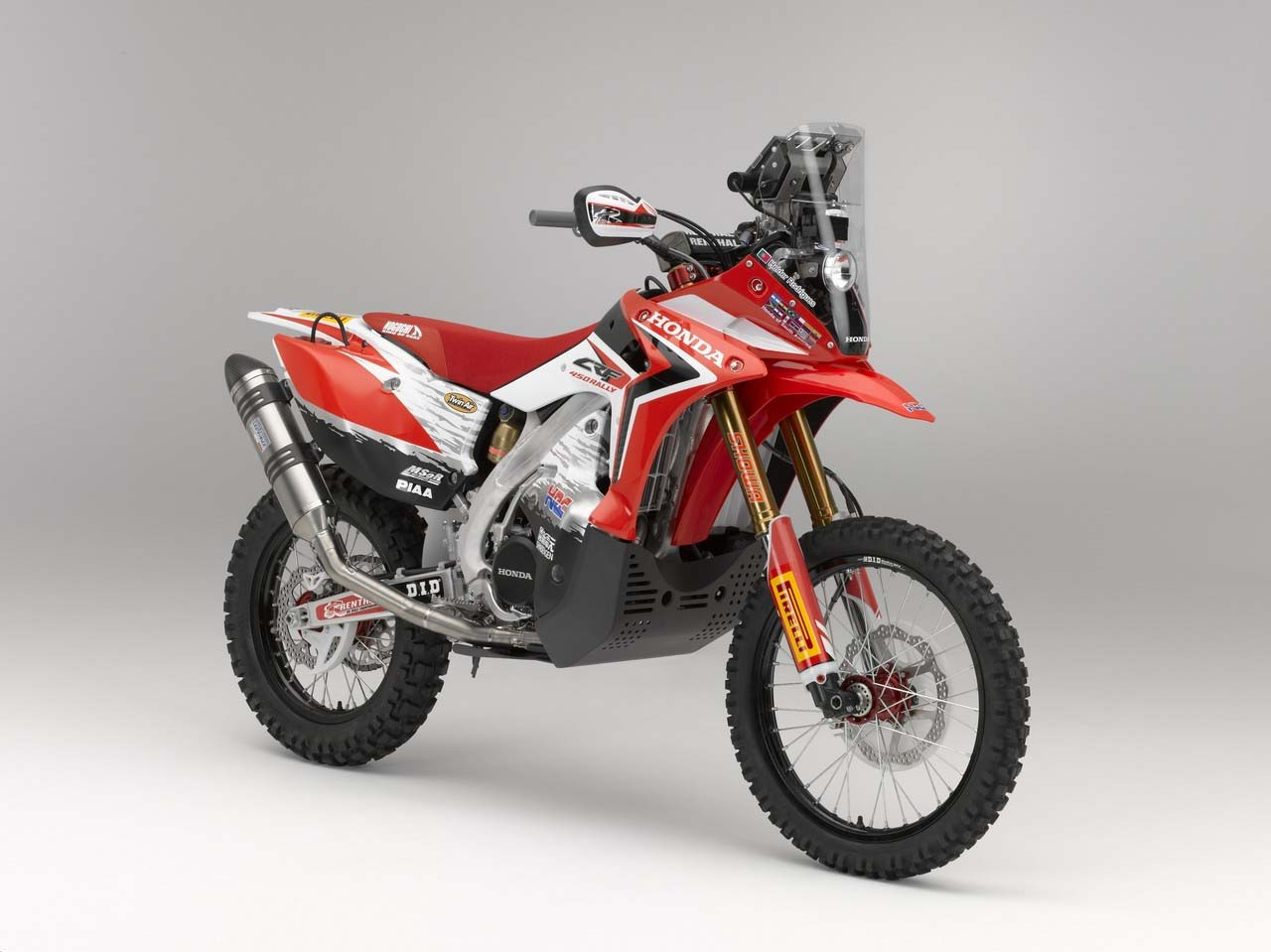 2013 Honda Crf450 Rally Big Red Is Ready For Dakar Asphalt Amp Rubber