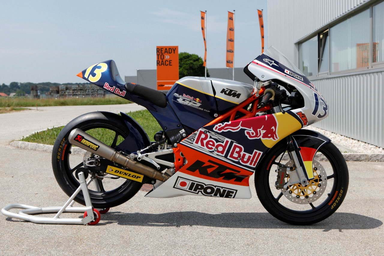 2013 KTM Moto3 250 GPR Production Race Bike - Asphalt & Rubber Race Bike Photos 2013