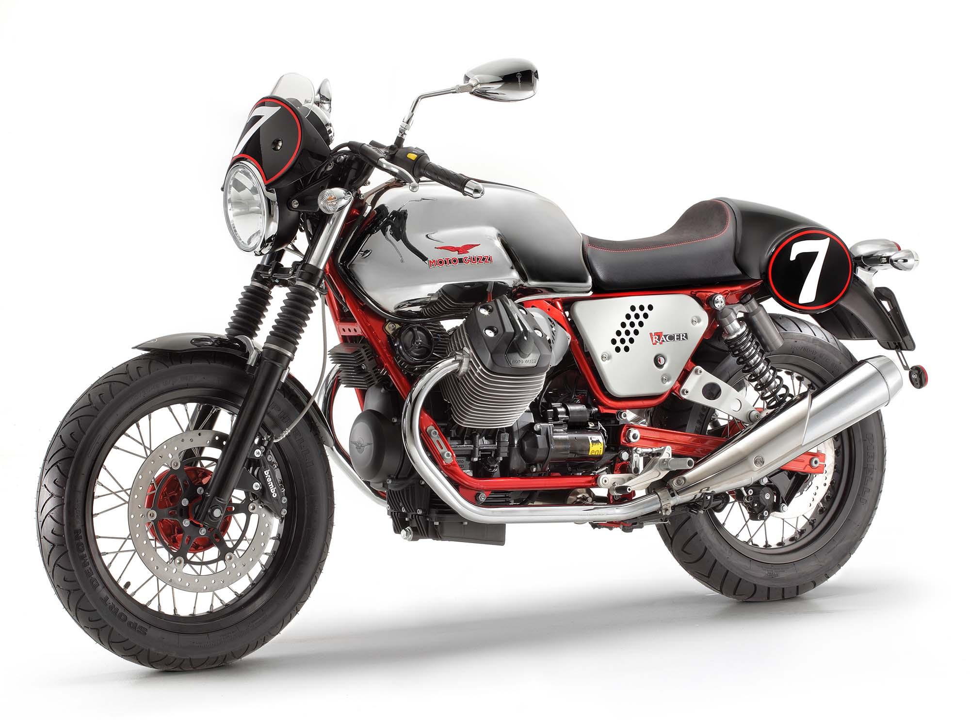 three moto guzzi v7 models coming to america for 2013 asphalt rubber. Black Bedroom Furniture Sets. Home Design Ideas