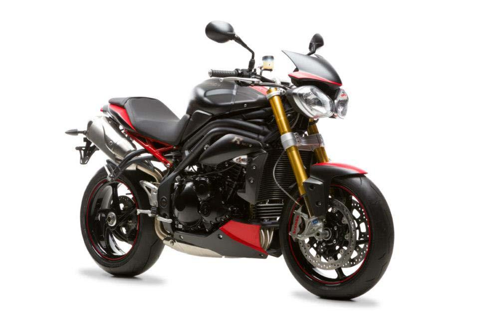 "only 30 triumph speed triple r ""dark"" bikes for the uk - asphalt"