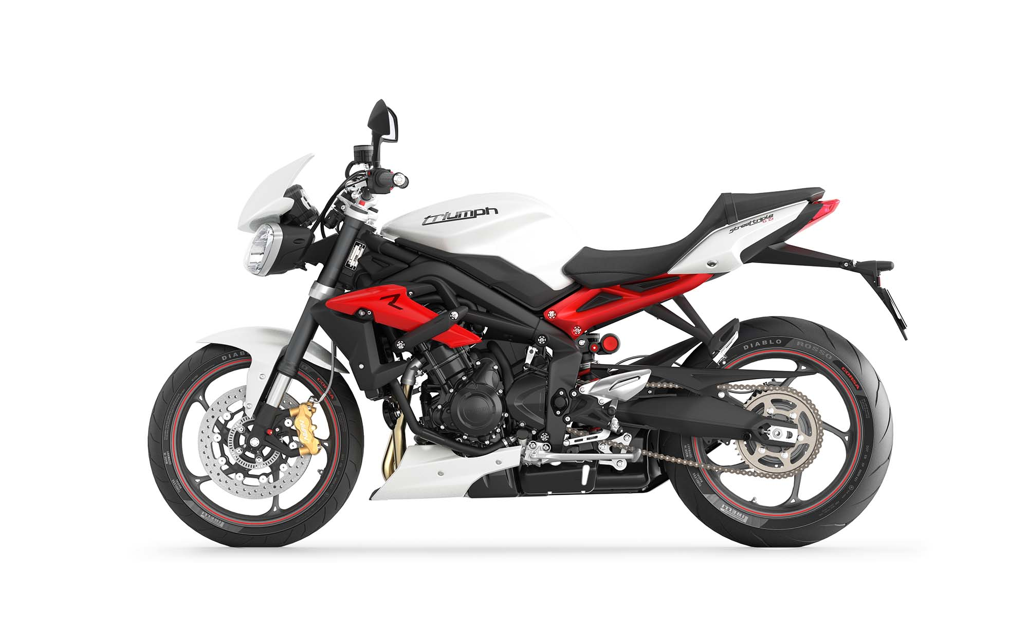 2013 triumph street triple r - loses weight, looks hotter