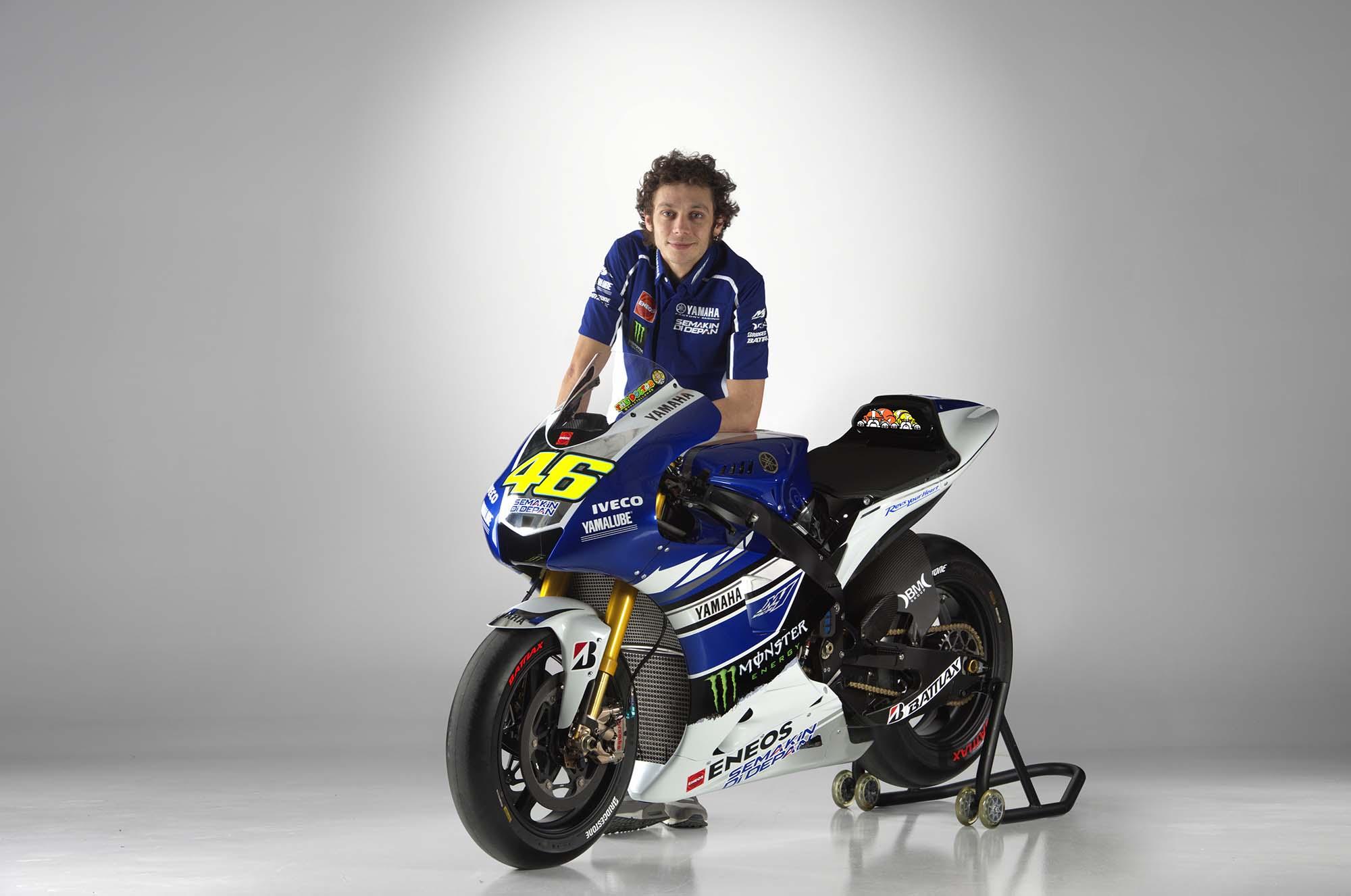 Rossi, Lorenzo, and the 2013 Yamaha YZR-M1 - Asphalt & Rubber