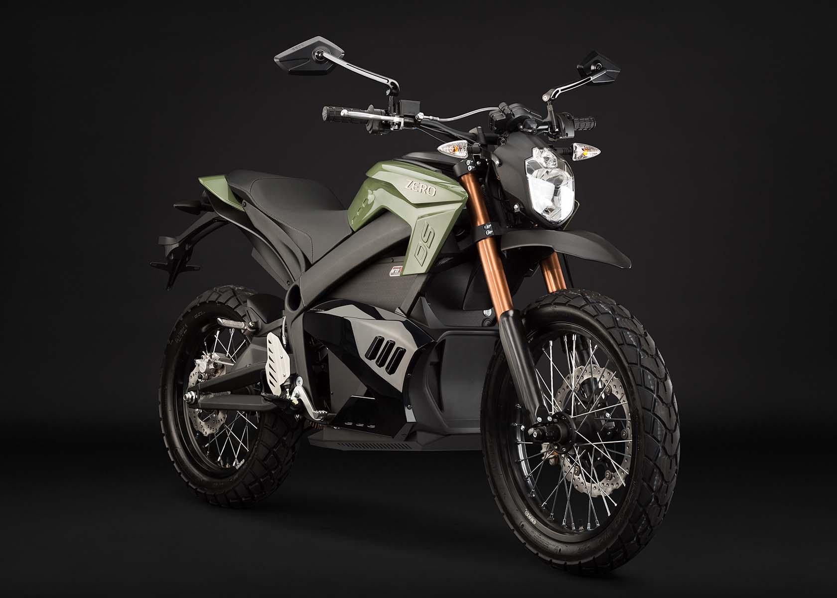 2013 Zero Motorcycles - 137 City Miles & 54 Horsepower - Asphalt ...