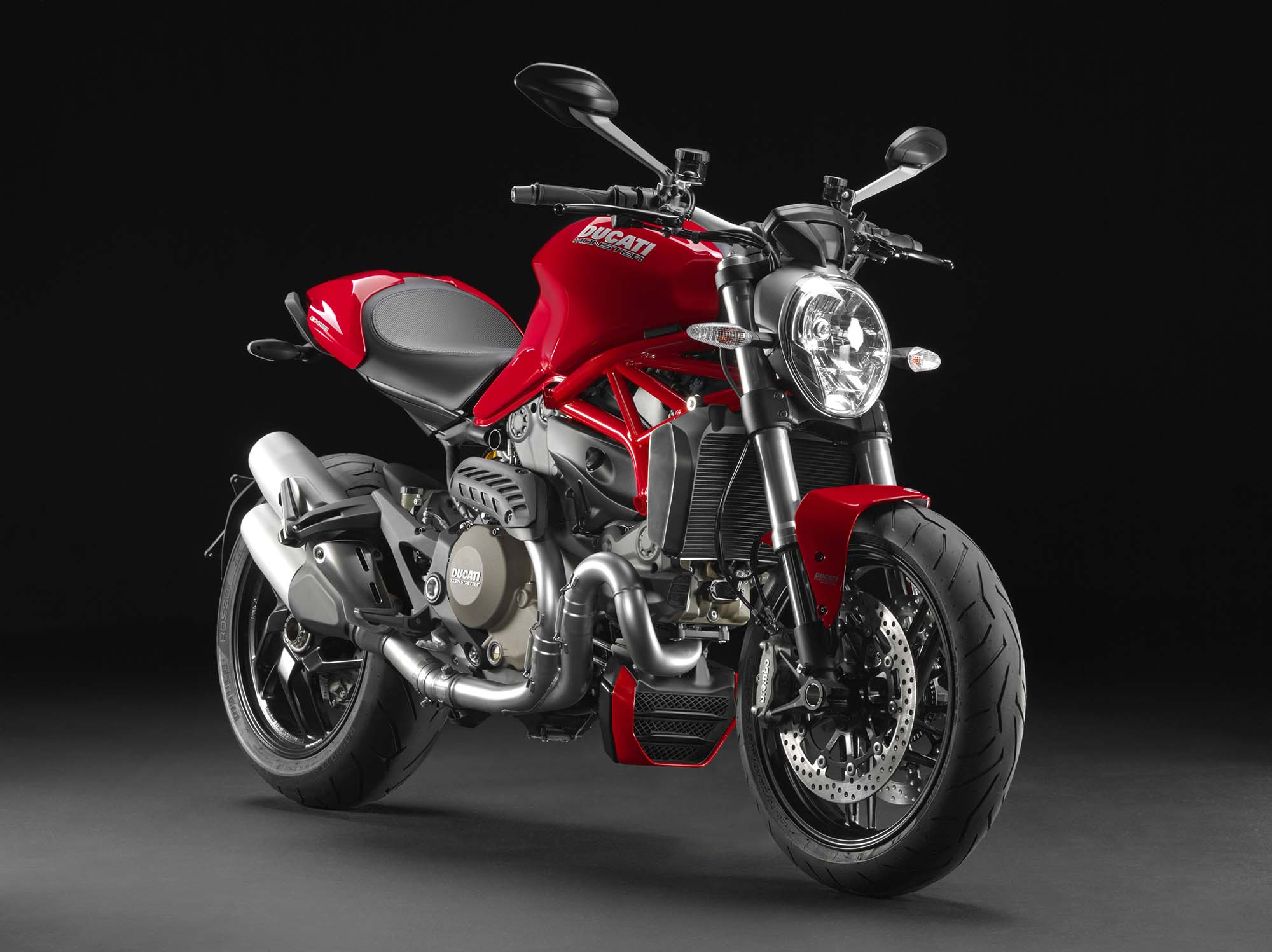 2014 ducati monster 1200 - water-cooling an icon - asphalt & rubber
