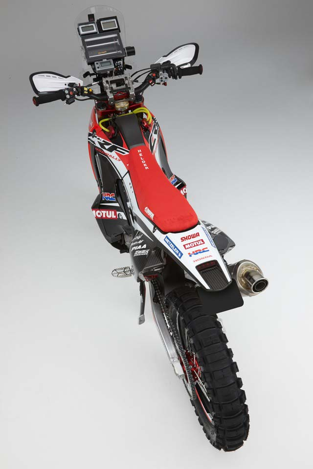 HRC Shows Off the 2014 Honda CRF450 Rally Race Bike ...