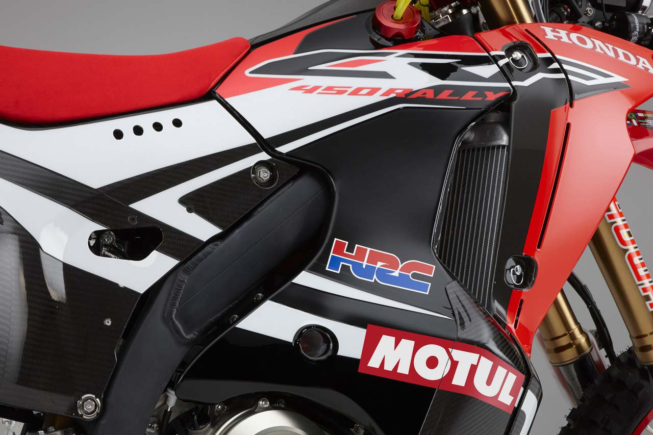 Hrc Shows Off The 2014 Honda Crf450 Rally Race Bike Asphalt Rubber Crf Wiring Diagram 08