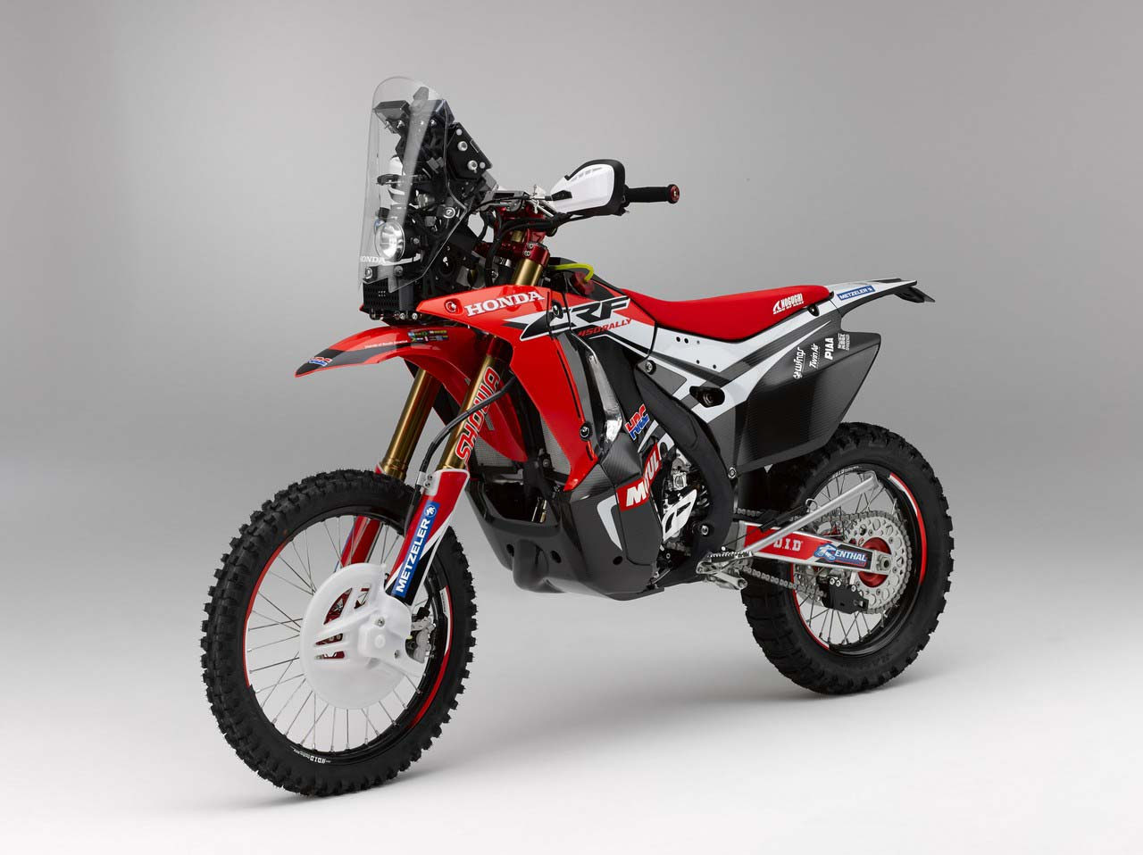 Enduro R Specs >> HRC Shows Off the 2014 Honda CRF450 Rally Race Bike - Asphalt & Rubber