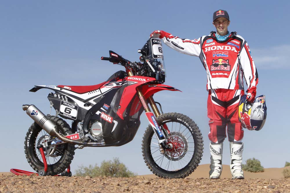 hrc will provide the honda crf450 rally to privateers asphalt rubber. Black Bedroom Furniture Sets. Home Design Ideas