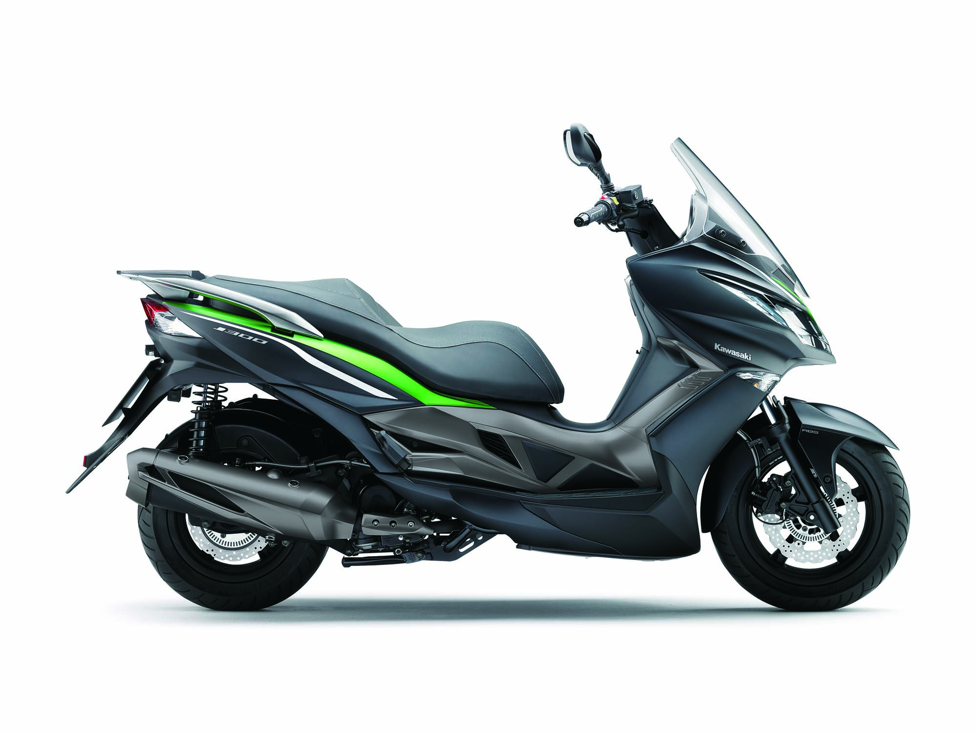 2014 kawasaki j300 a maxi scooter from team green asphalt rubber. Black Bedroom Furniture Sets. Home Design Ideas