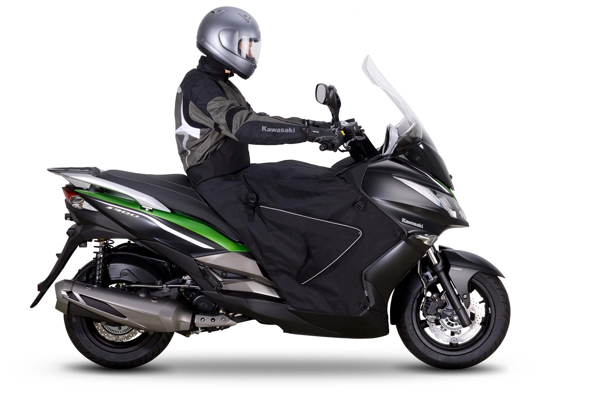 2014 Kawasaki J300 A Maxi Scooter From Team Green