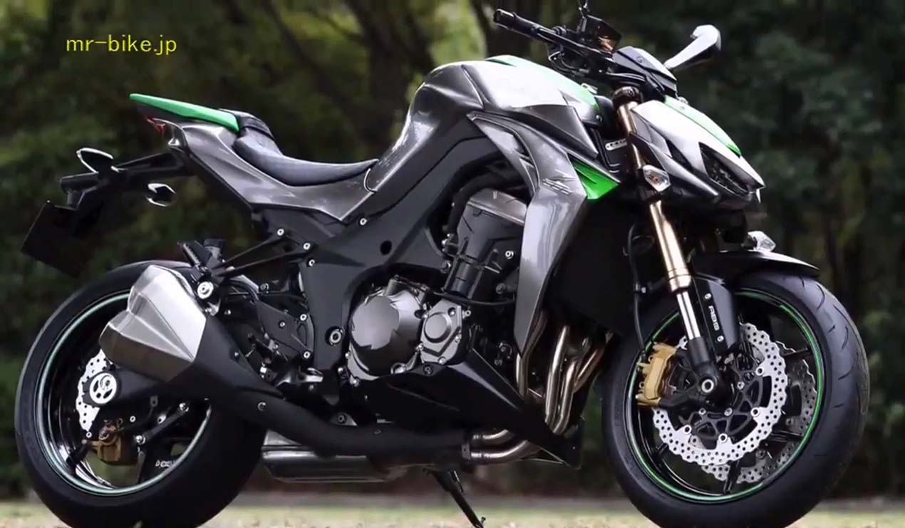 2014 Kawasaki Z1000 Video Leak 05