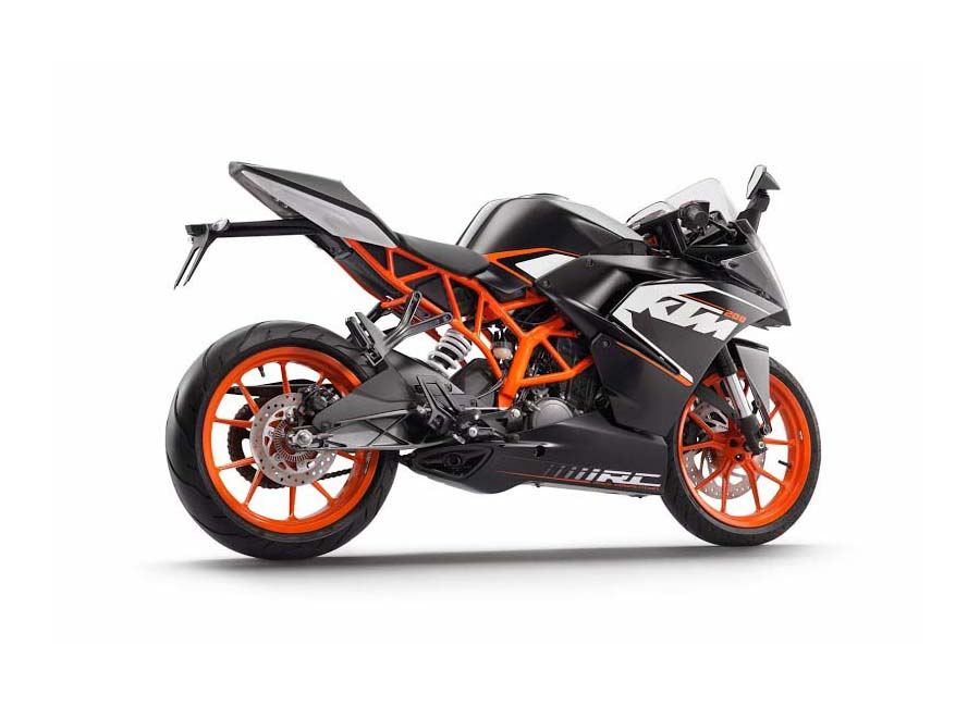 First Photos Of The KTM RC125 & KTM RC200