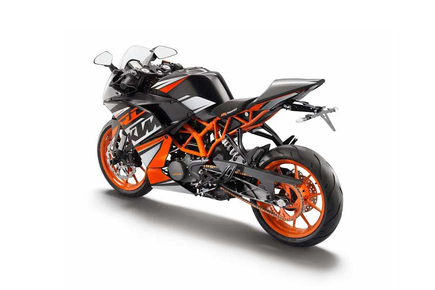 Ktm Rc Orange Key