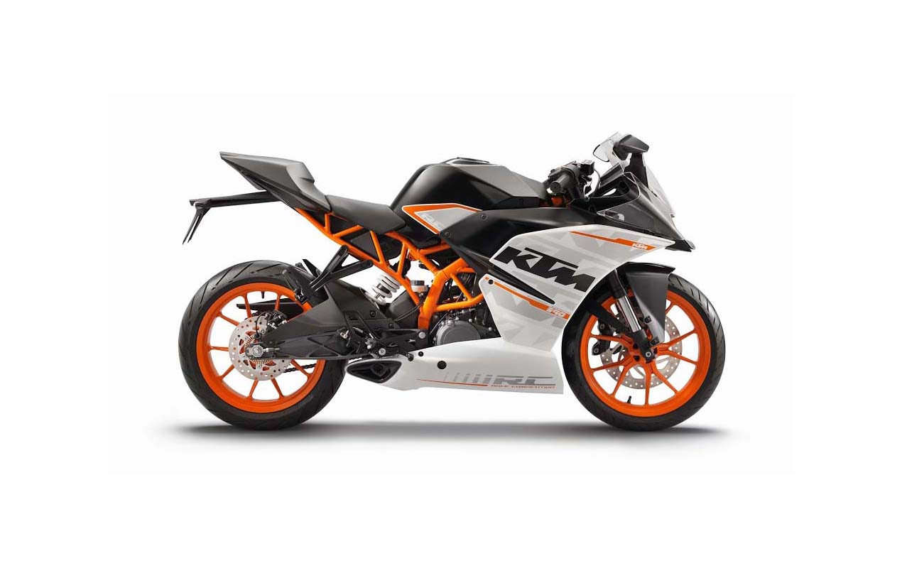 first photos of the ktm rc125 ktm rc200 asphalt rubber. Black Bedroom Furniture Sets. Home Design Ideas