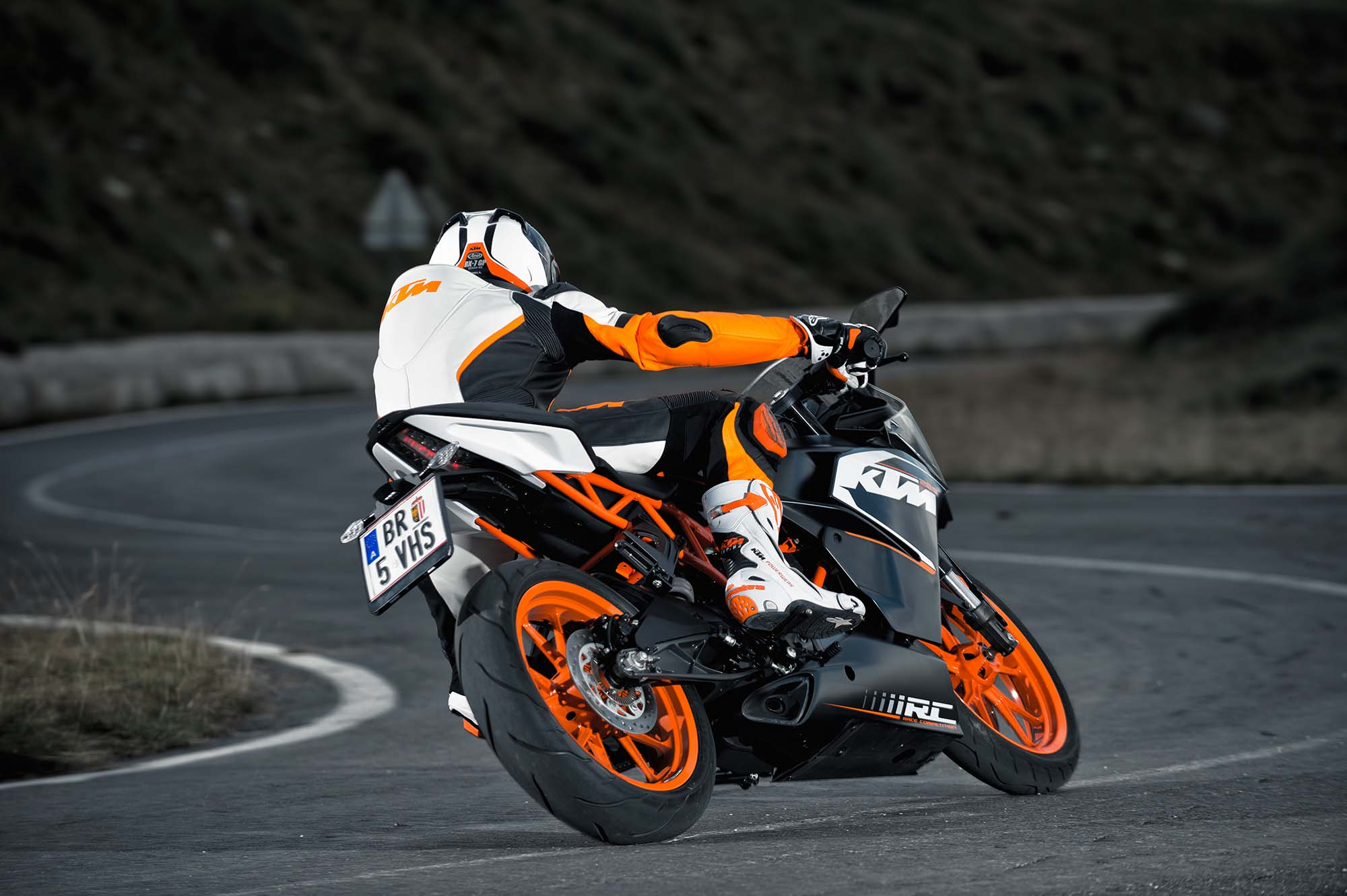 2014 Ktm Rc200 Ktm Rc125 The More The Merrier Asphalt Rubber