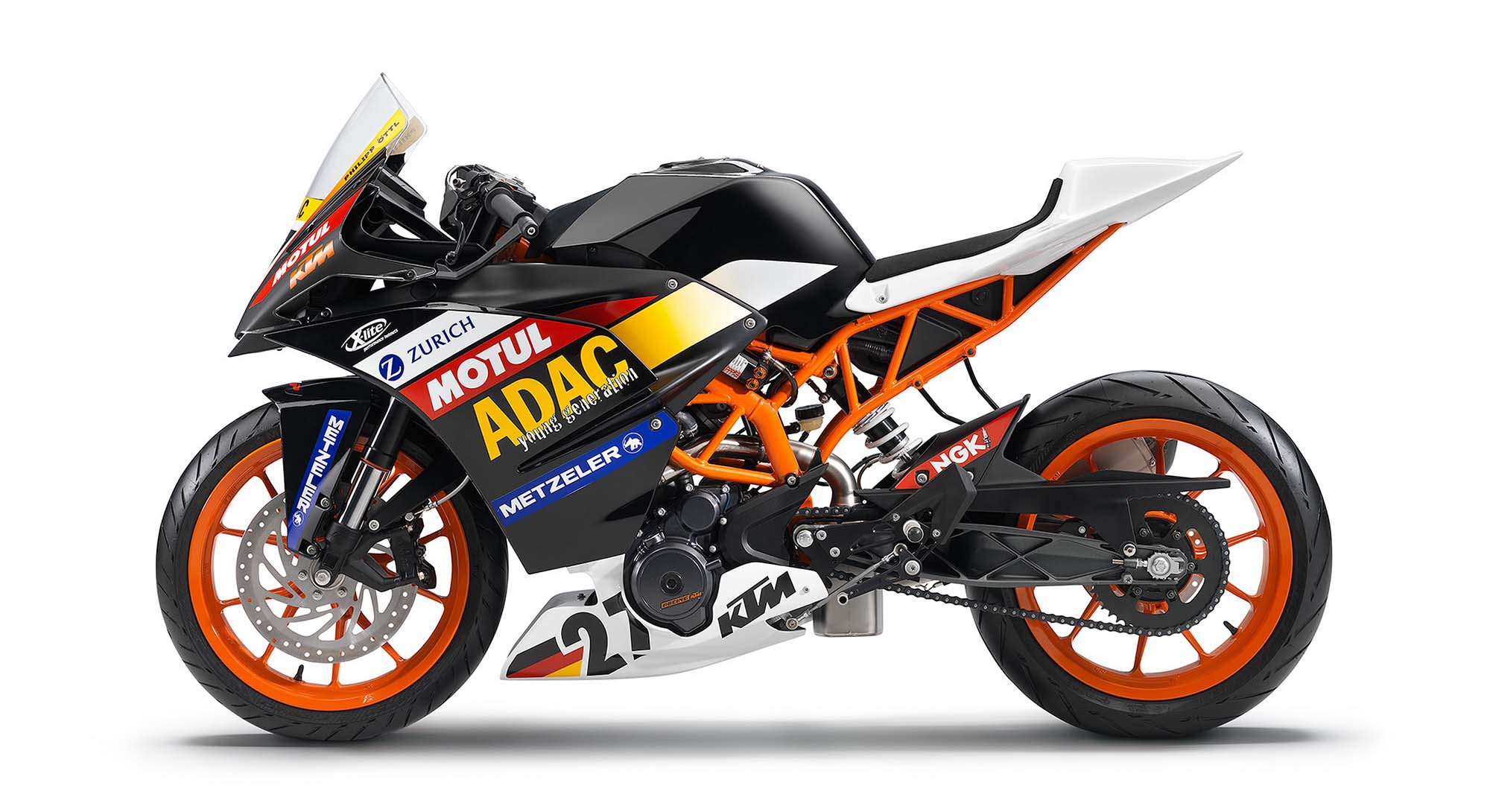 2014 ktm rc390 cup - a glimpse of what's to come - asphalt & rubber