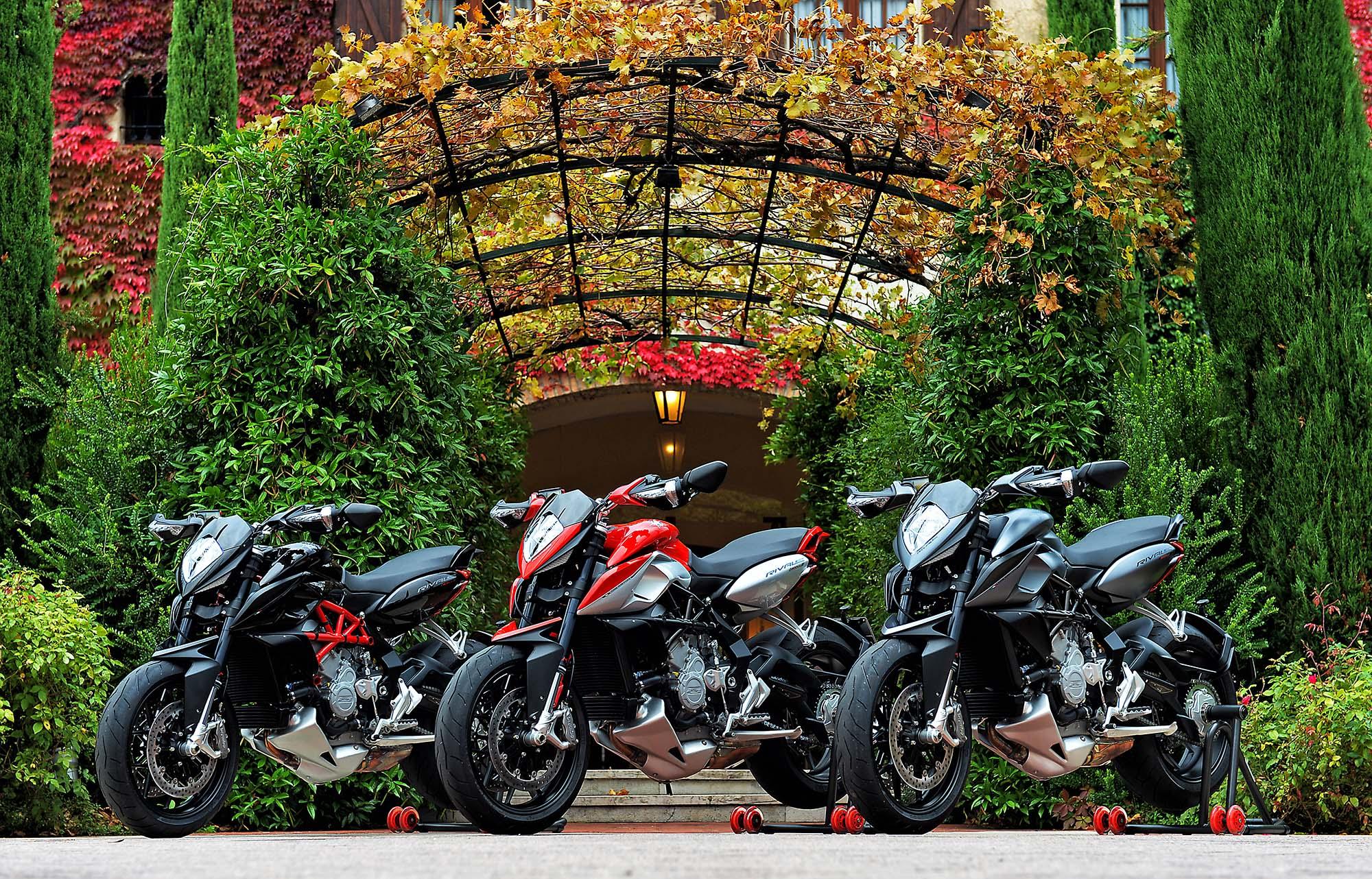 The 2014 mv agusta rivale 800 is not everyone s friend the bike