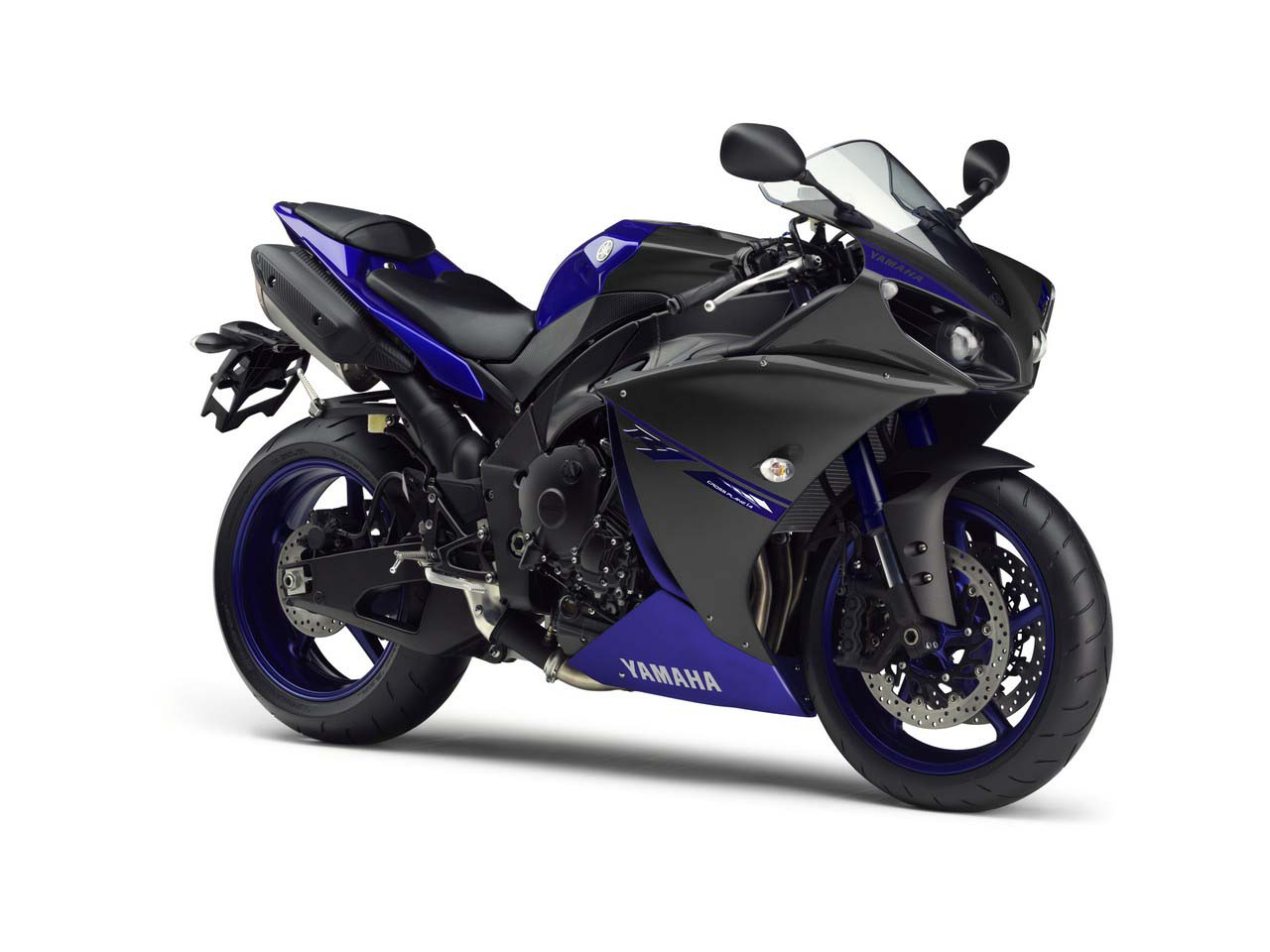 yamaha r1 blue bike - photo #7