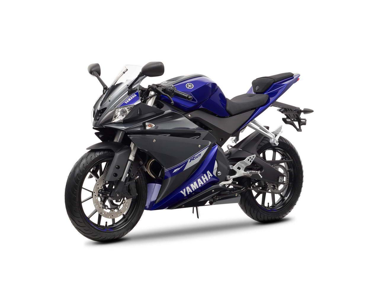 The 2014 Yamaha YZF-R125 should retail in April for €4,490 ( and