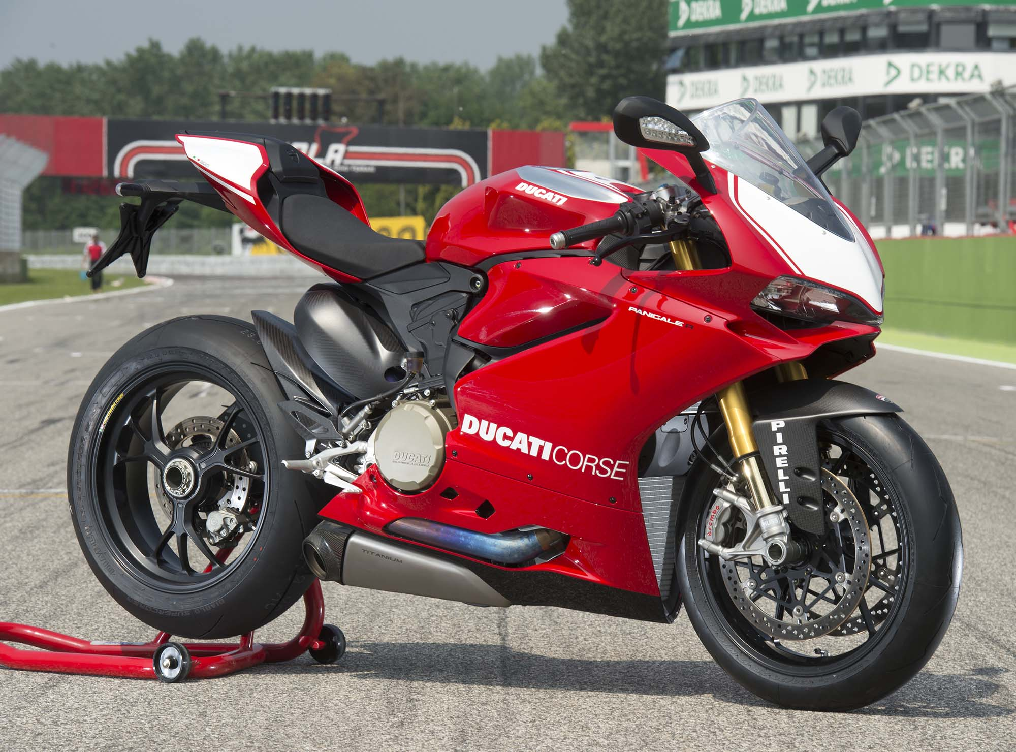 ducati five forces