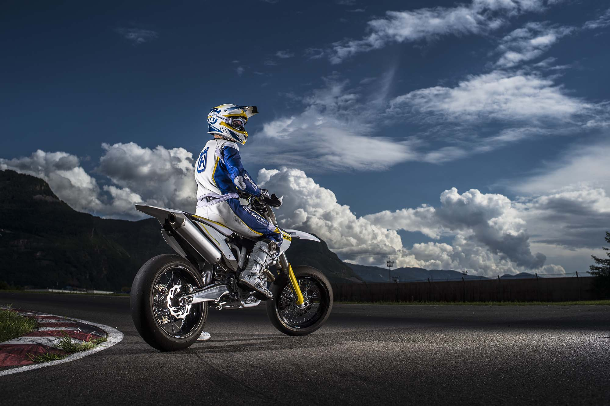 Husky Returns To Supermoto