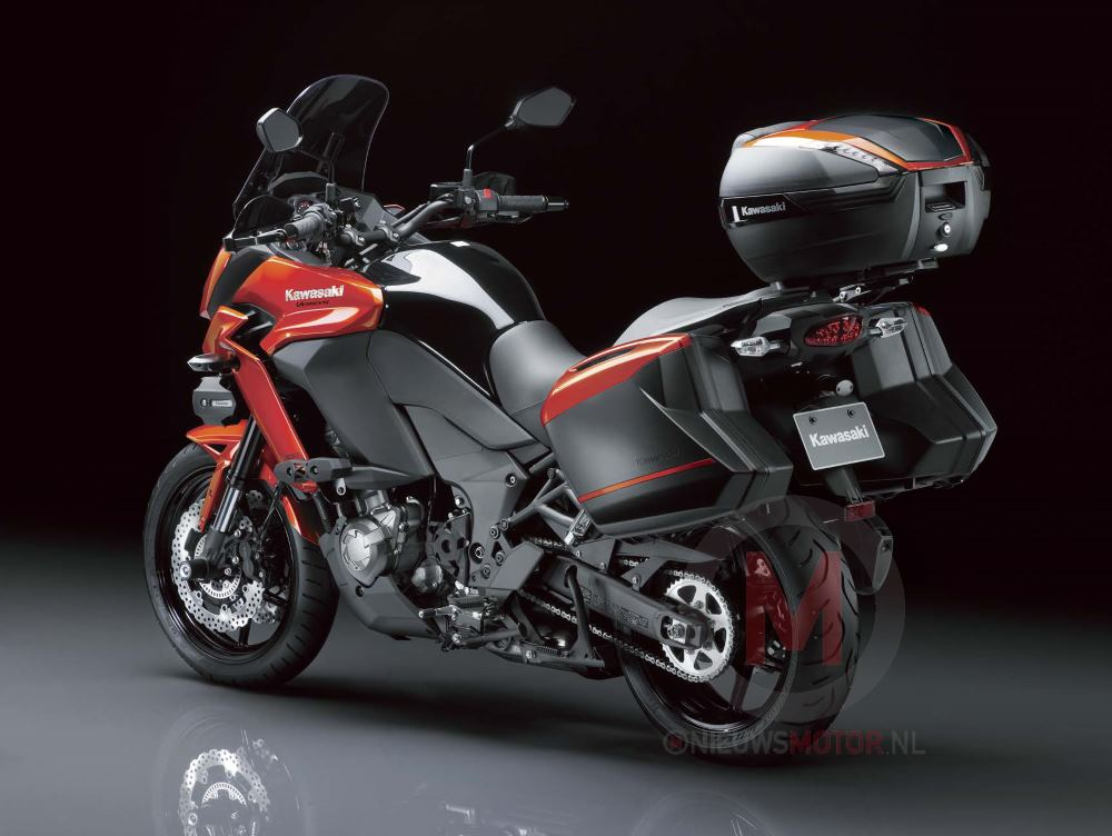 leaked photos of the 2015 kawasaki versys 1000 asphalt rubber. Black Bedroom Furniture Sets. Home Design Ideas