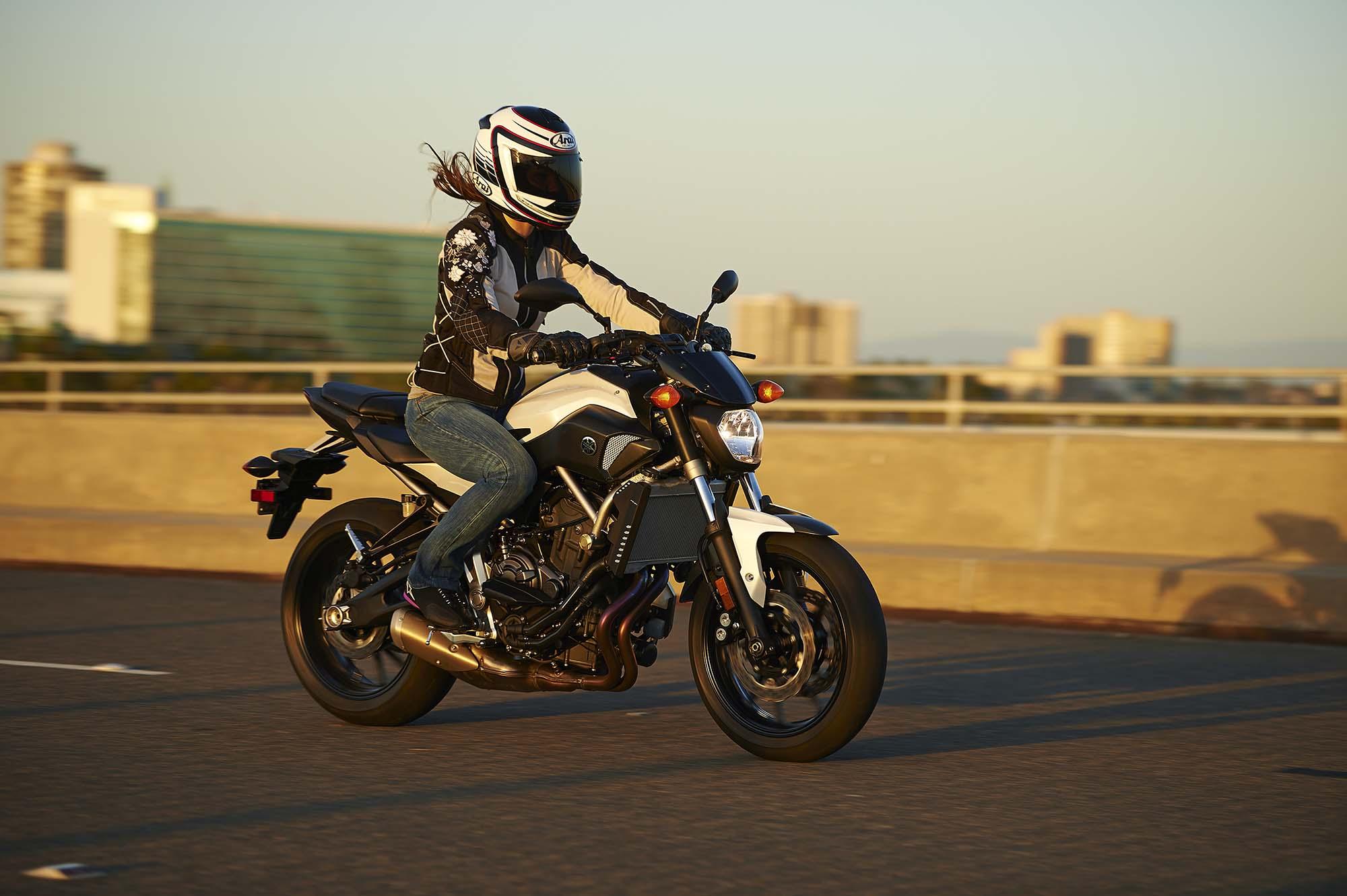motorcycle magazine: Dont Call It the MT-07, Yamaha FZ-07