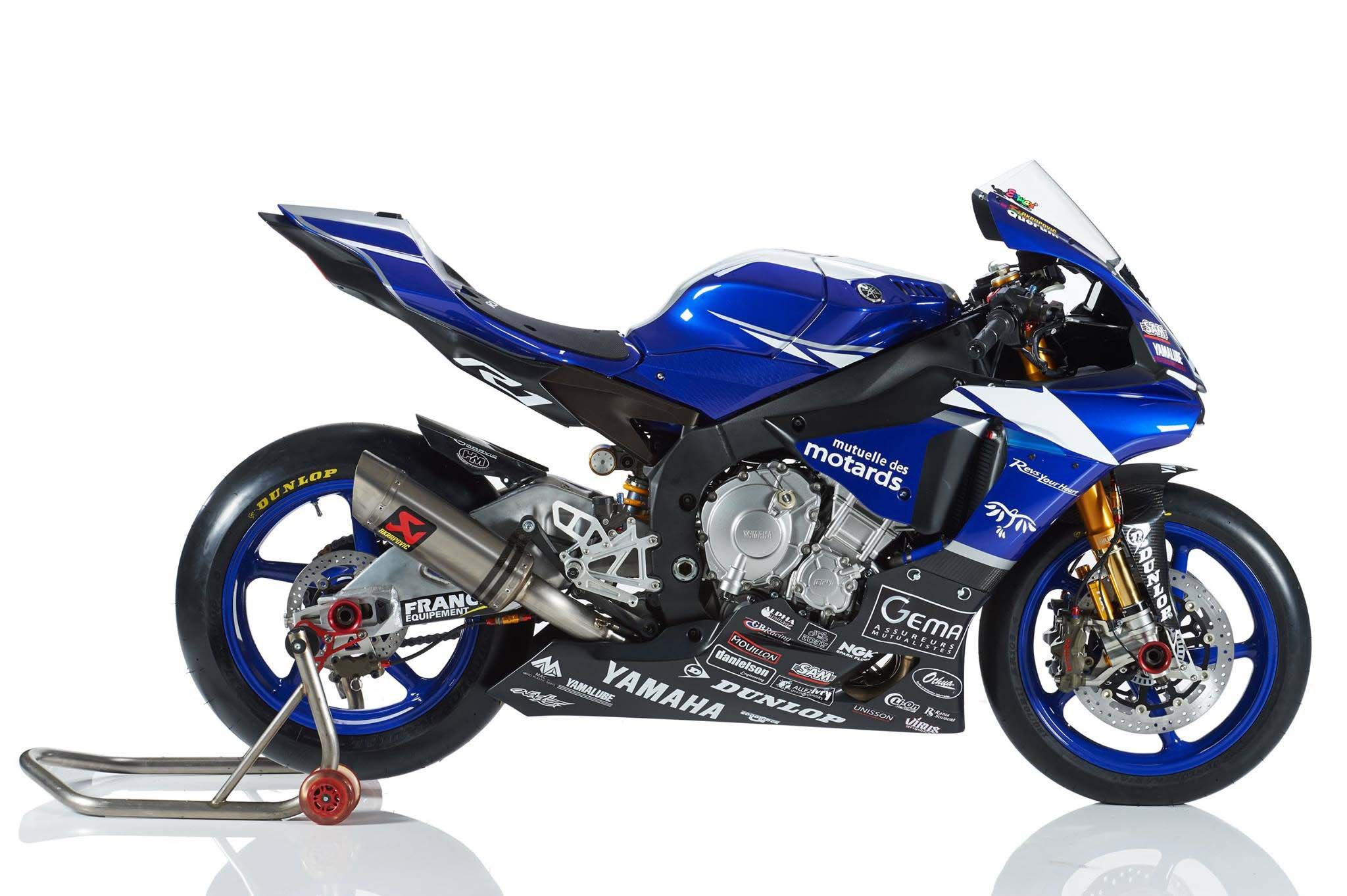yamaha r1 blue bike - photo #42