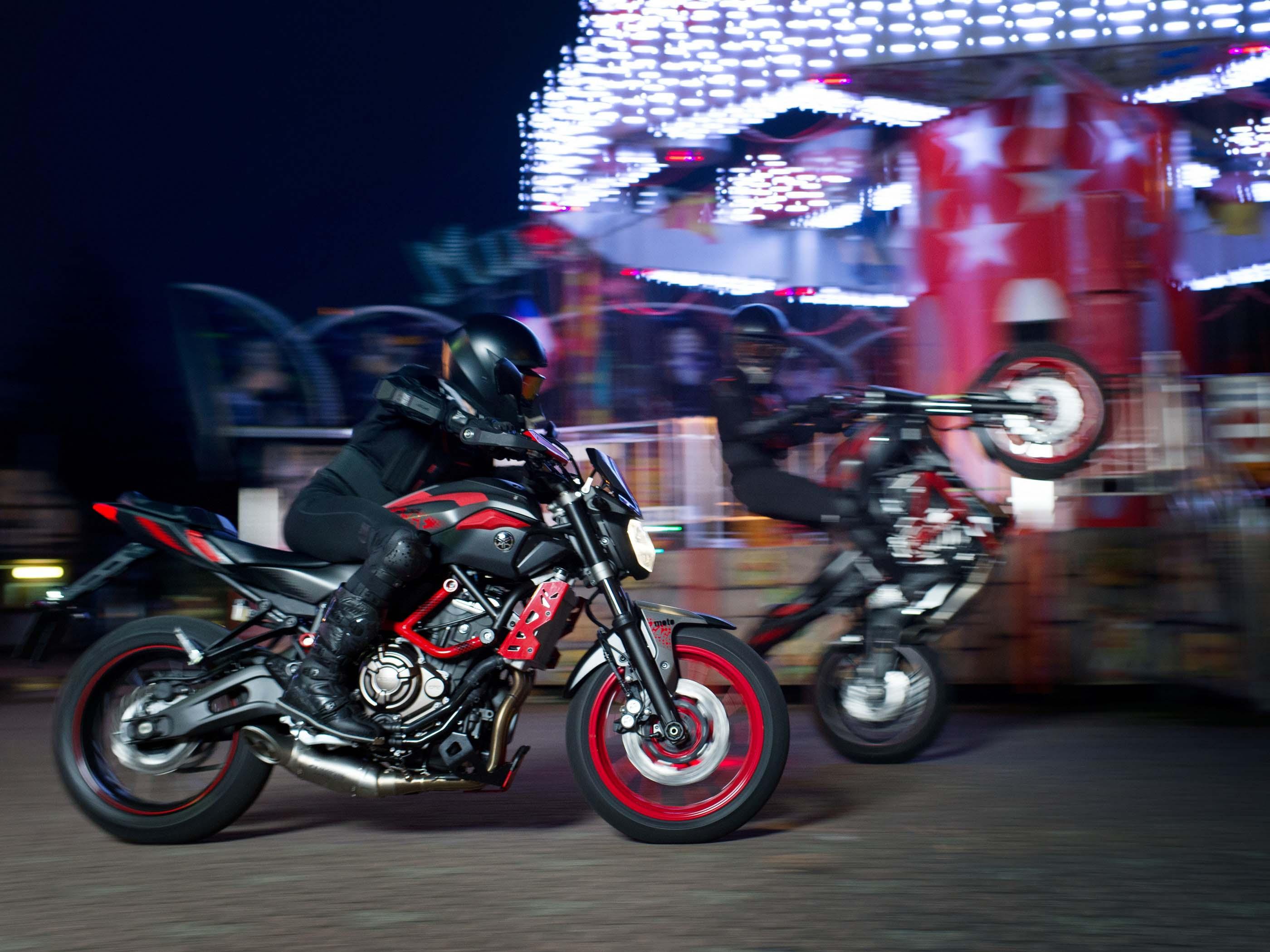 2015 Yamaha MT-07 Moto Cage - For Euro Stunters - Asphalt ...