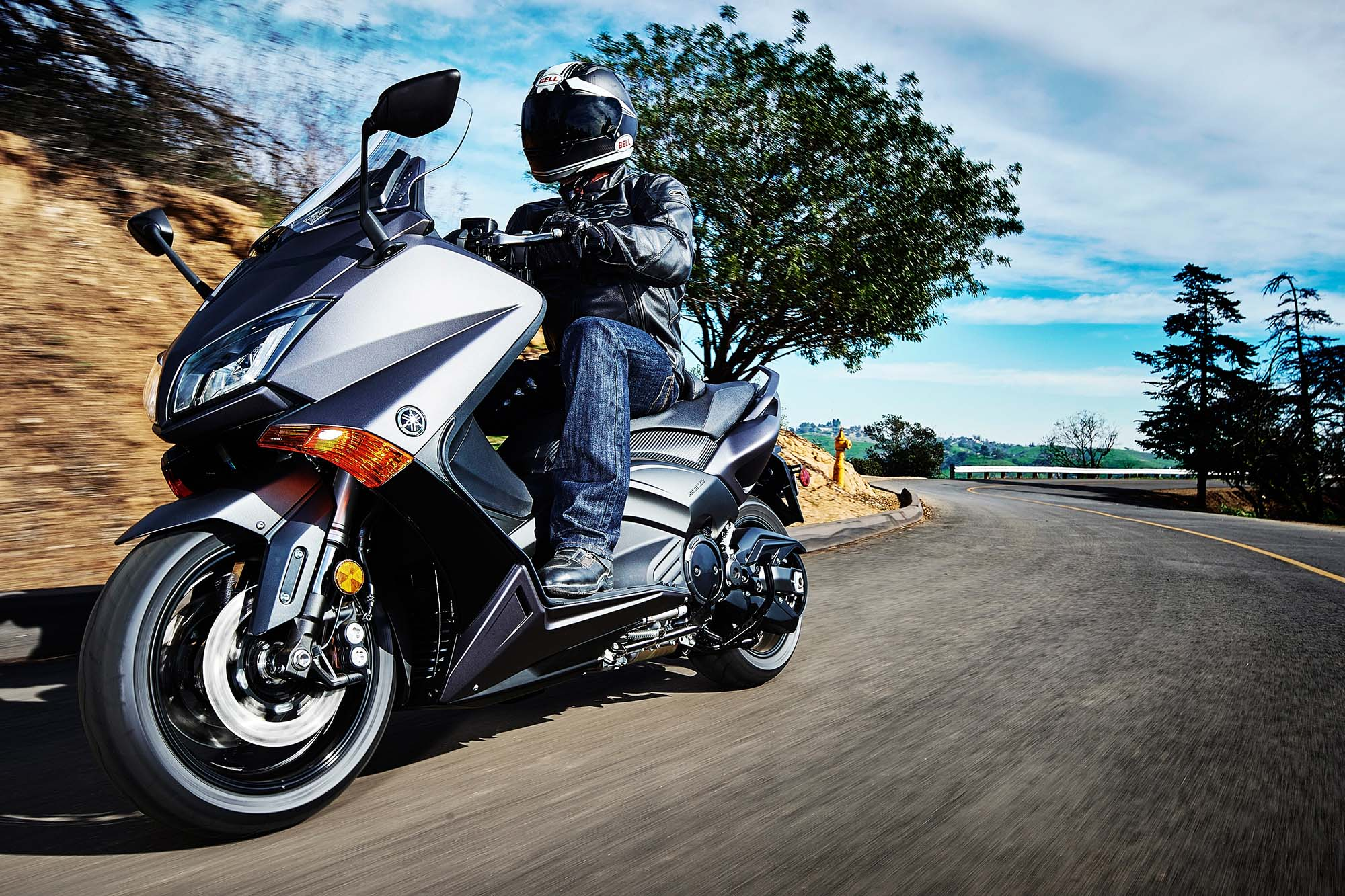 Yamaha Tmax Comes To America For 2015 Asphalt Amp Rubber