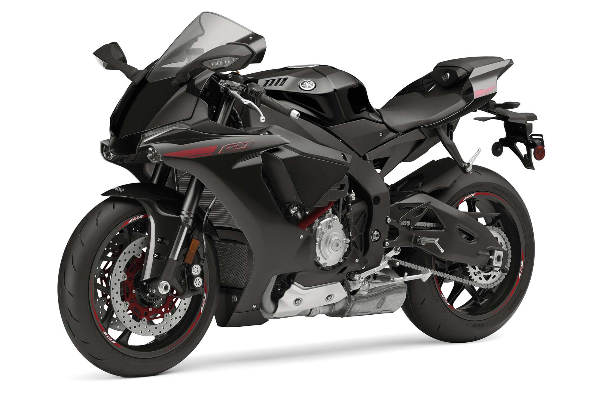 Yamaha R Negra Y Rojo