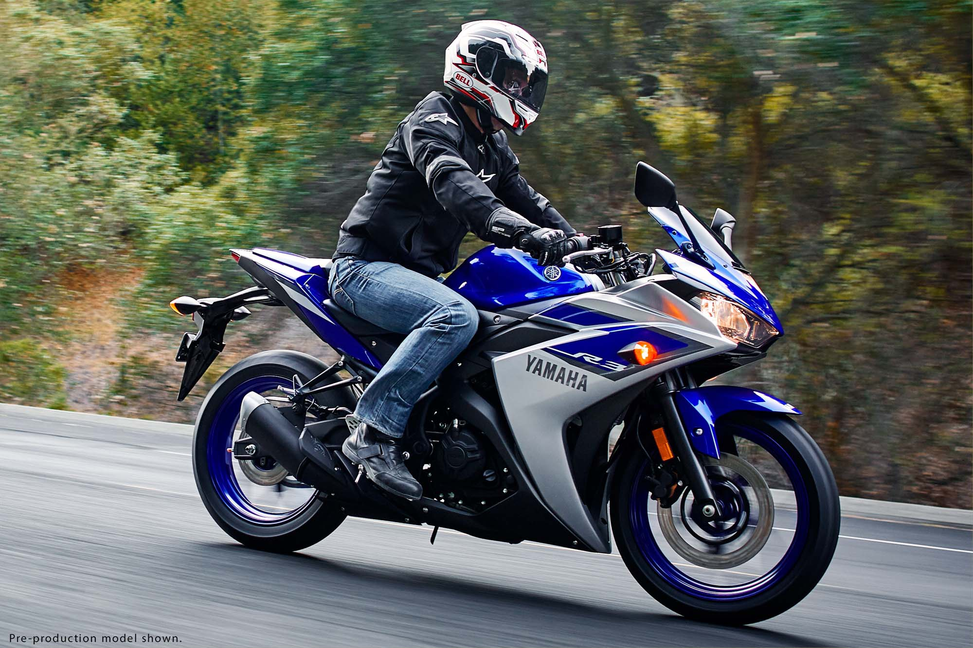 Yamaha YZF R3 Revealed  321cc Twin Coming To The USA Asphalt &amp Rubber