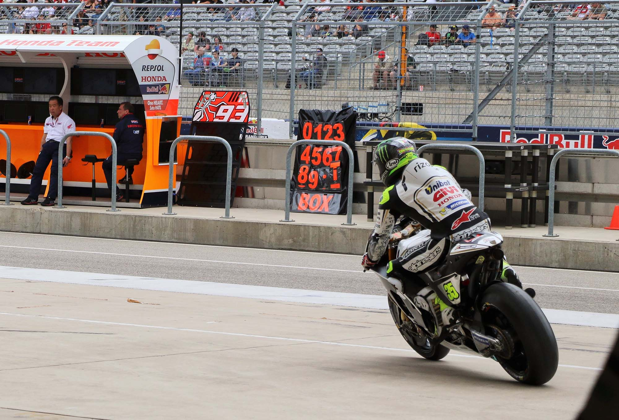 At MotoGP's Grand Prix of the Americas in Austin, Texas ...