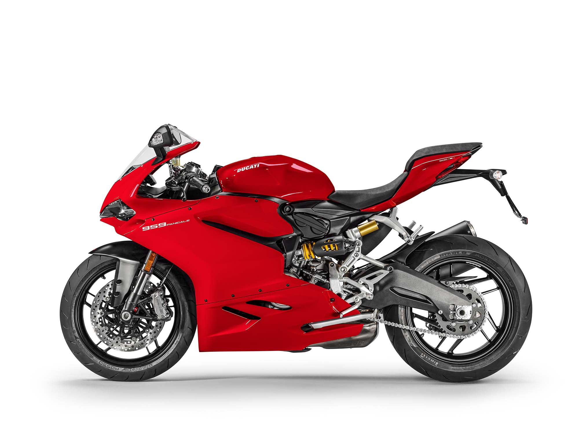 2016 ducati 959 panigale comes with a shotgun exhaust. Black Bedroom Furniture Sets. Home Design Ideas