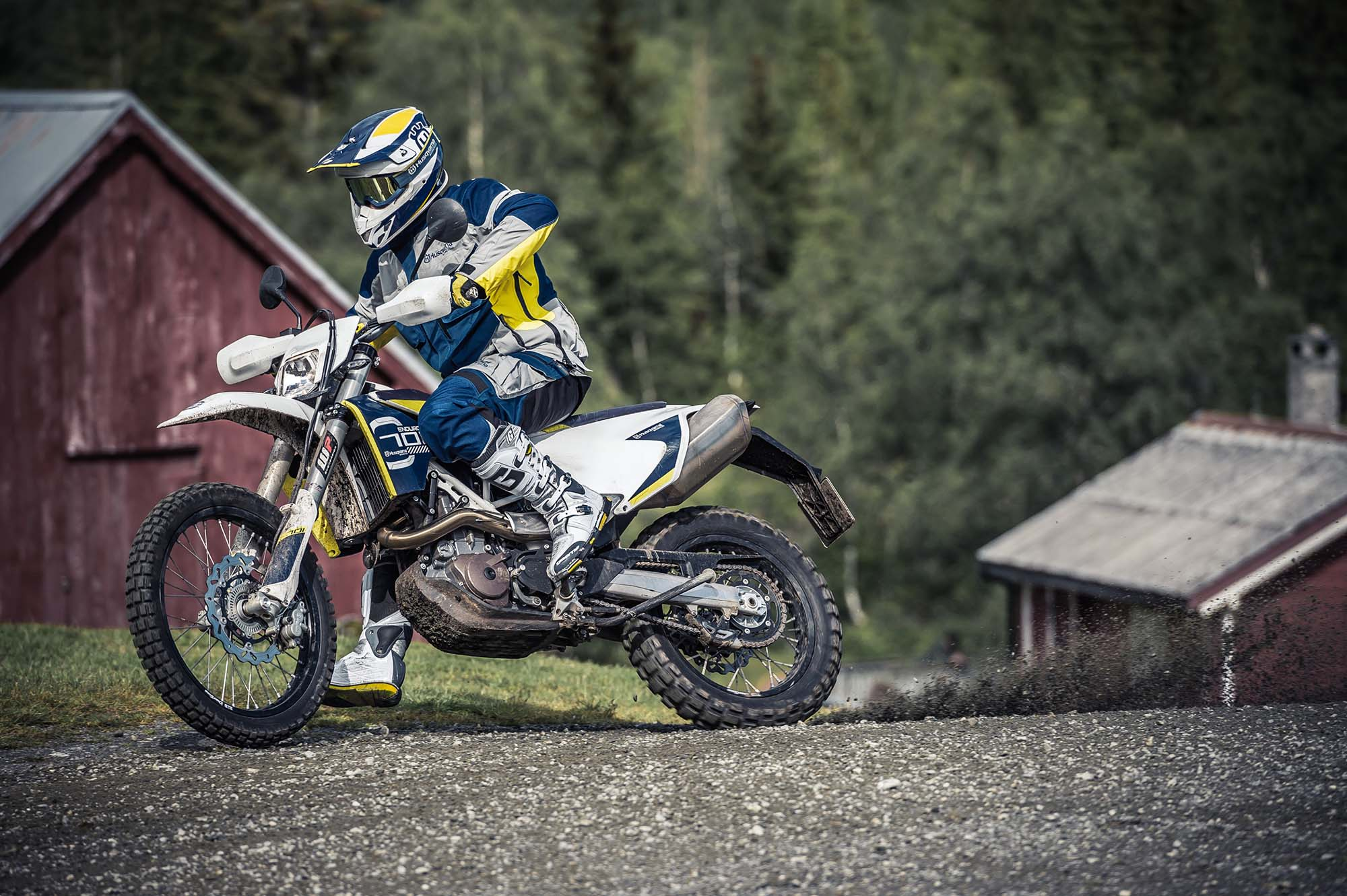 Finally, Here is the Husqvarna 701 Enduro